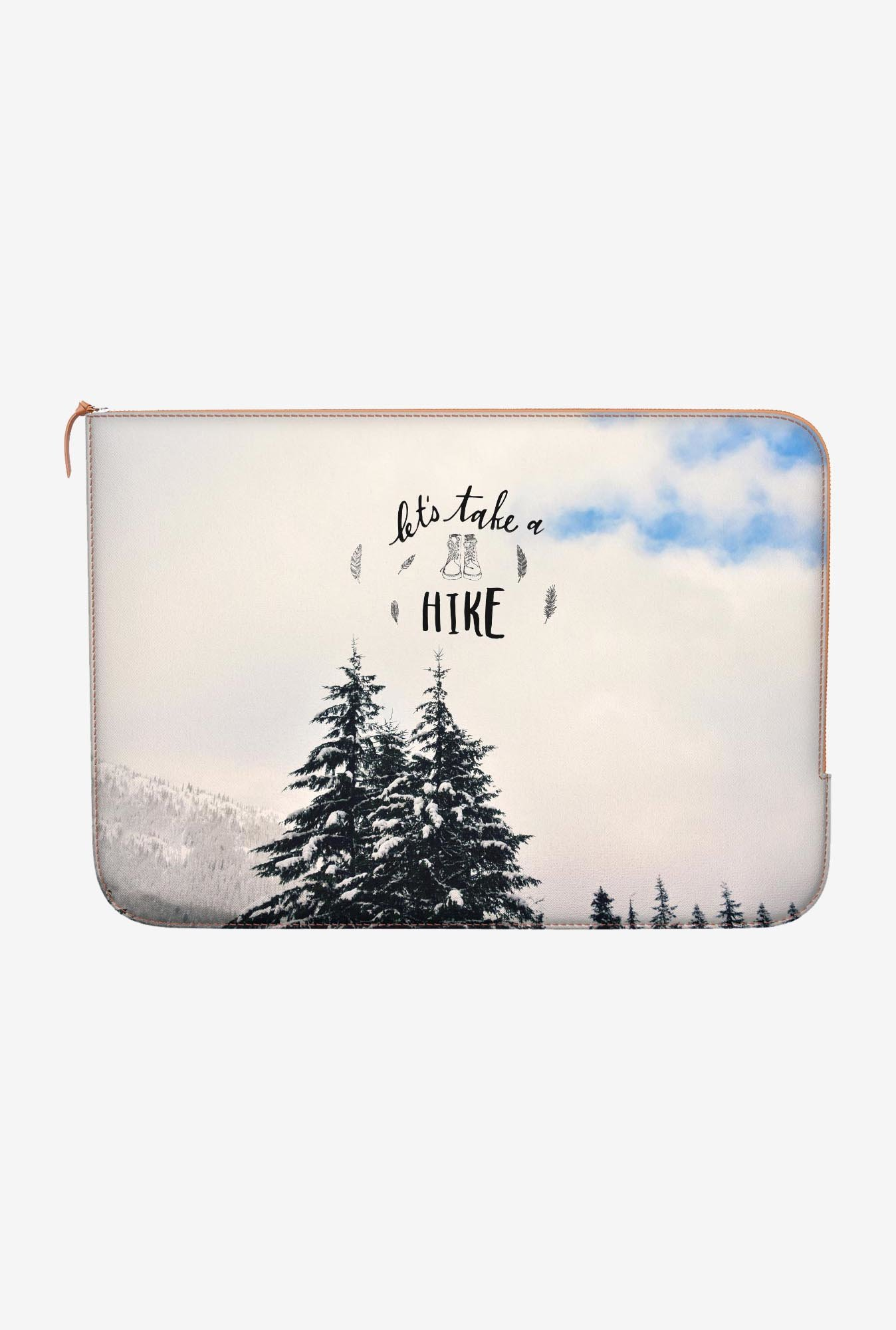 "DailyObjects Take A Hike Macbook Air 11"" Zippered Sleeve"