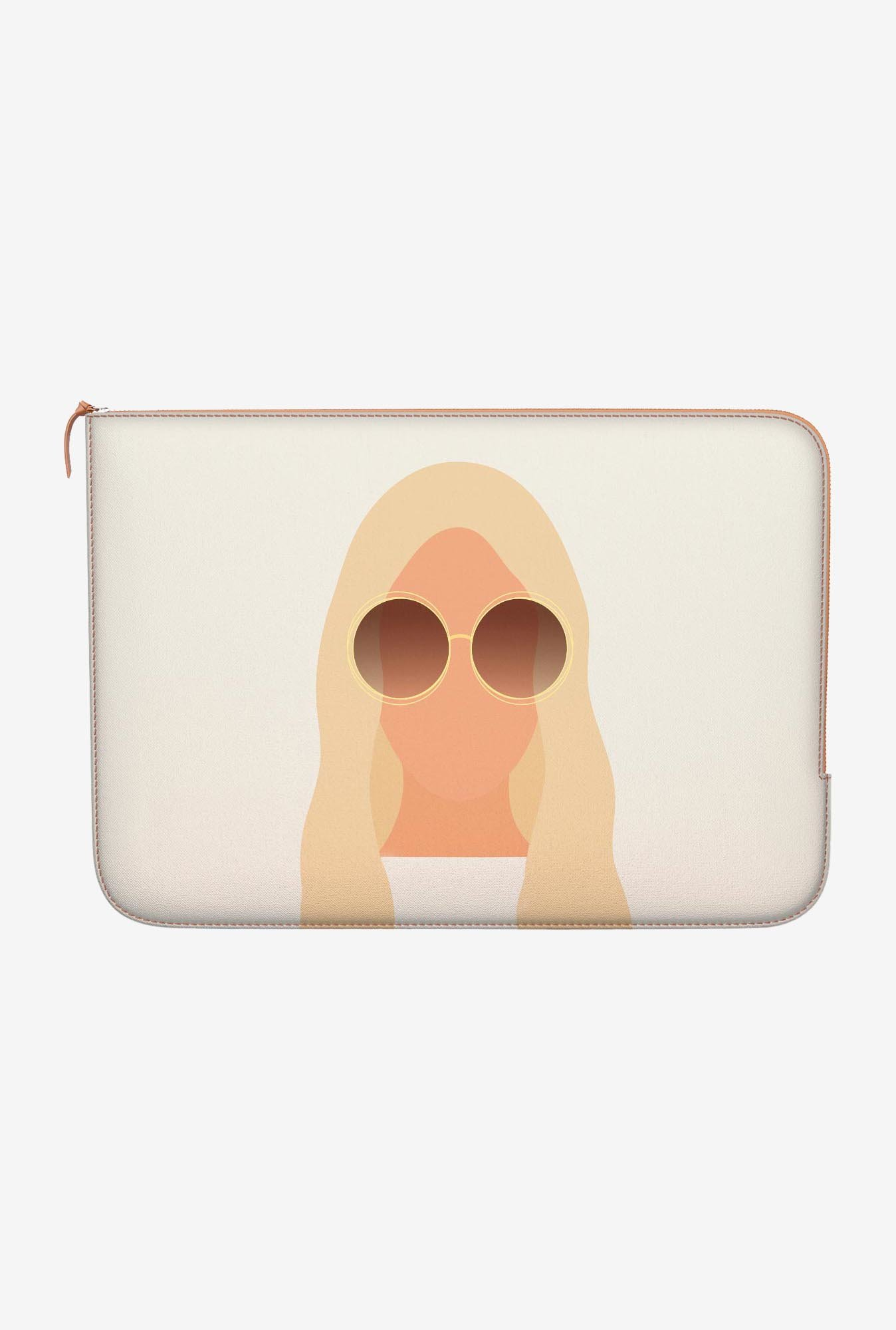 "DailyObjects Silhouette Macbook Air 11"" Zippered Sleeve"