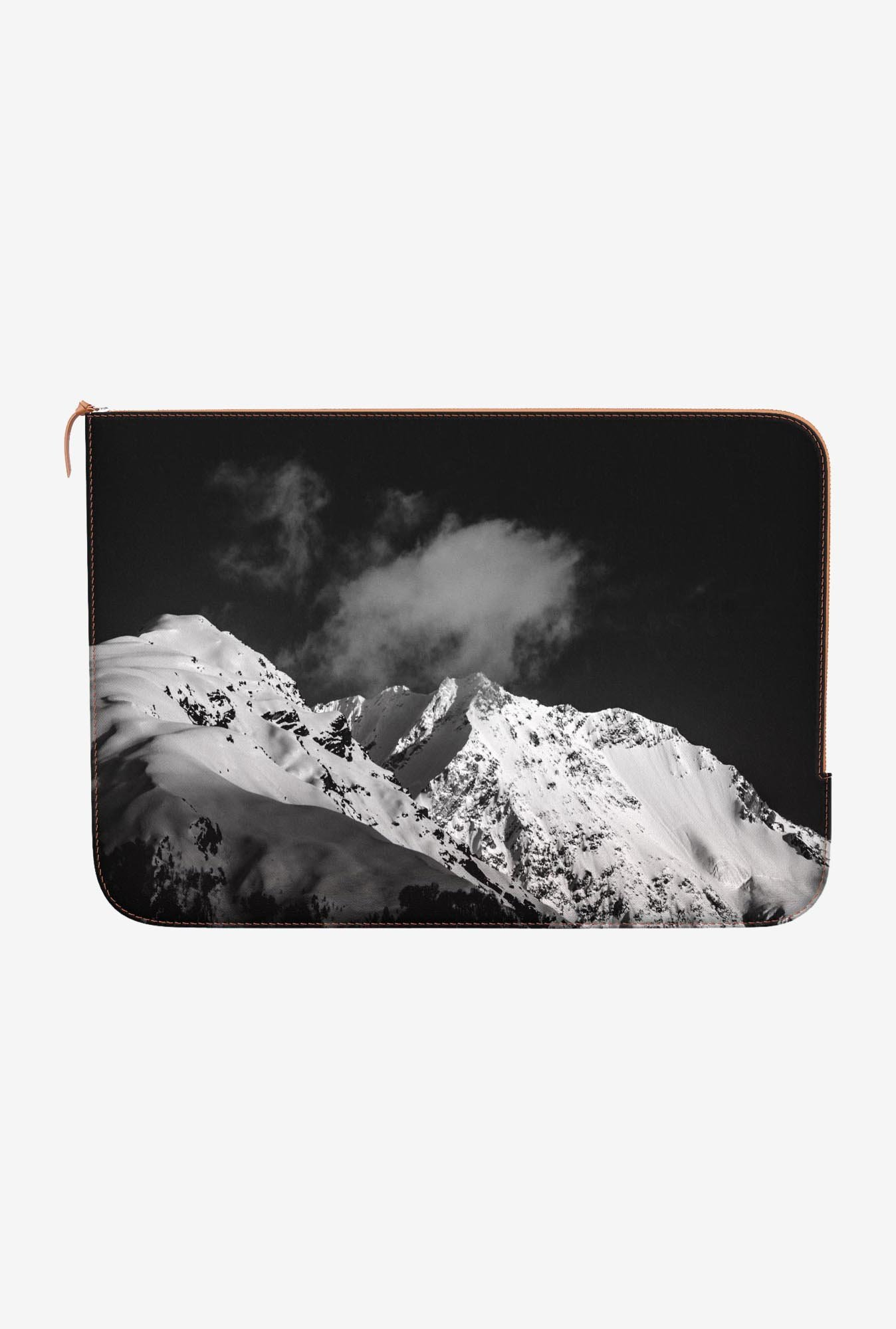 "DailyObjects Snow Capped Macbook Pro 15"" Zippered Sleeve"