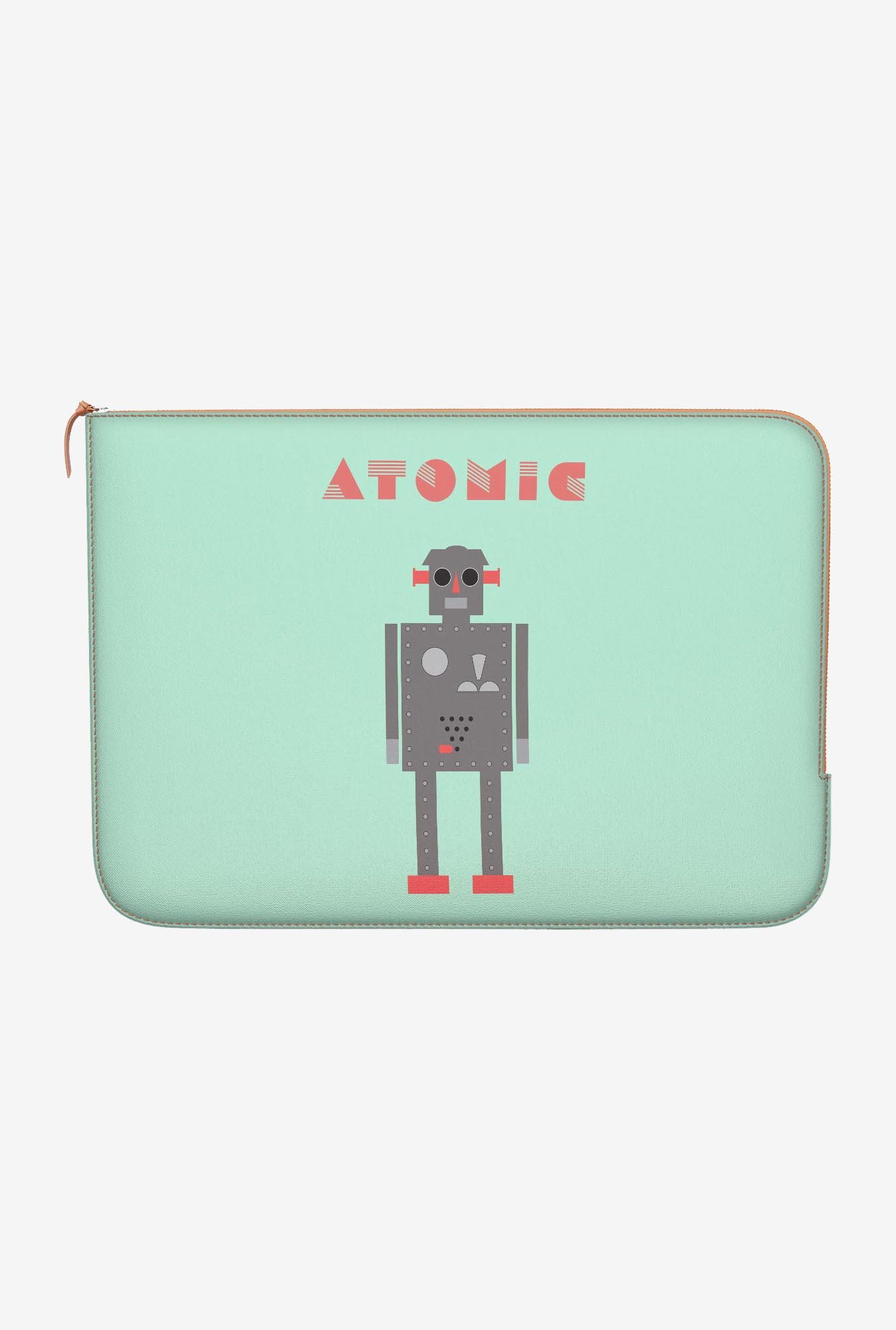 "DailyObjects Atomic Robot Macbook Pro 15"" Zippered Sleeve"