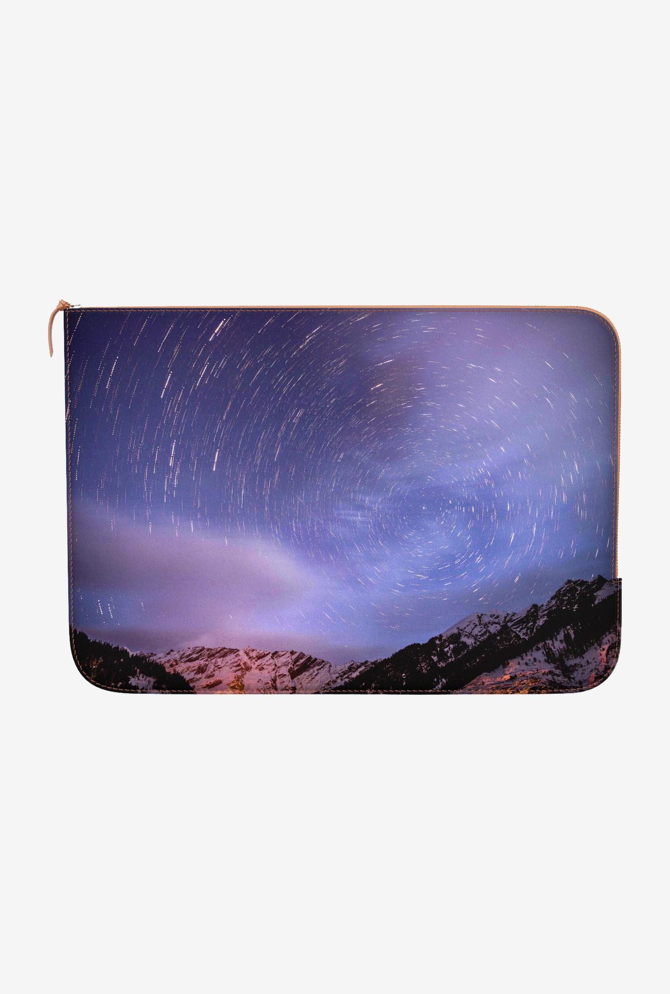 "DailyObjects Spinning Sky Macbook Air 11"" Zippered Sleeve"