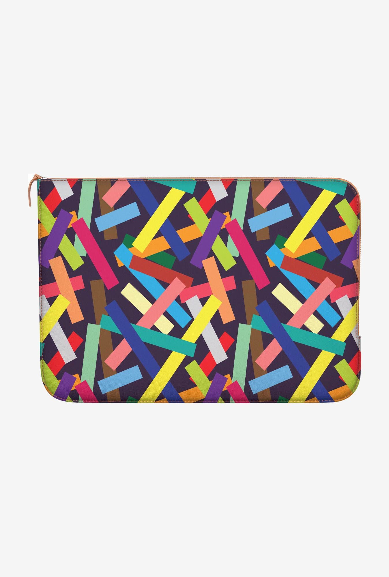 "DailyObjects Square Confetti Macbook 12"" Zippered Sleeve"