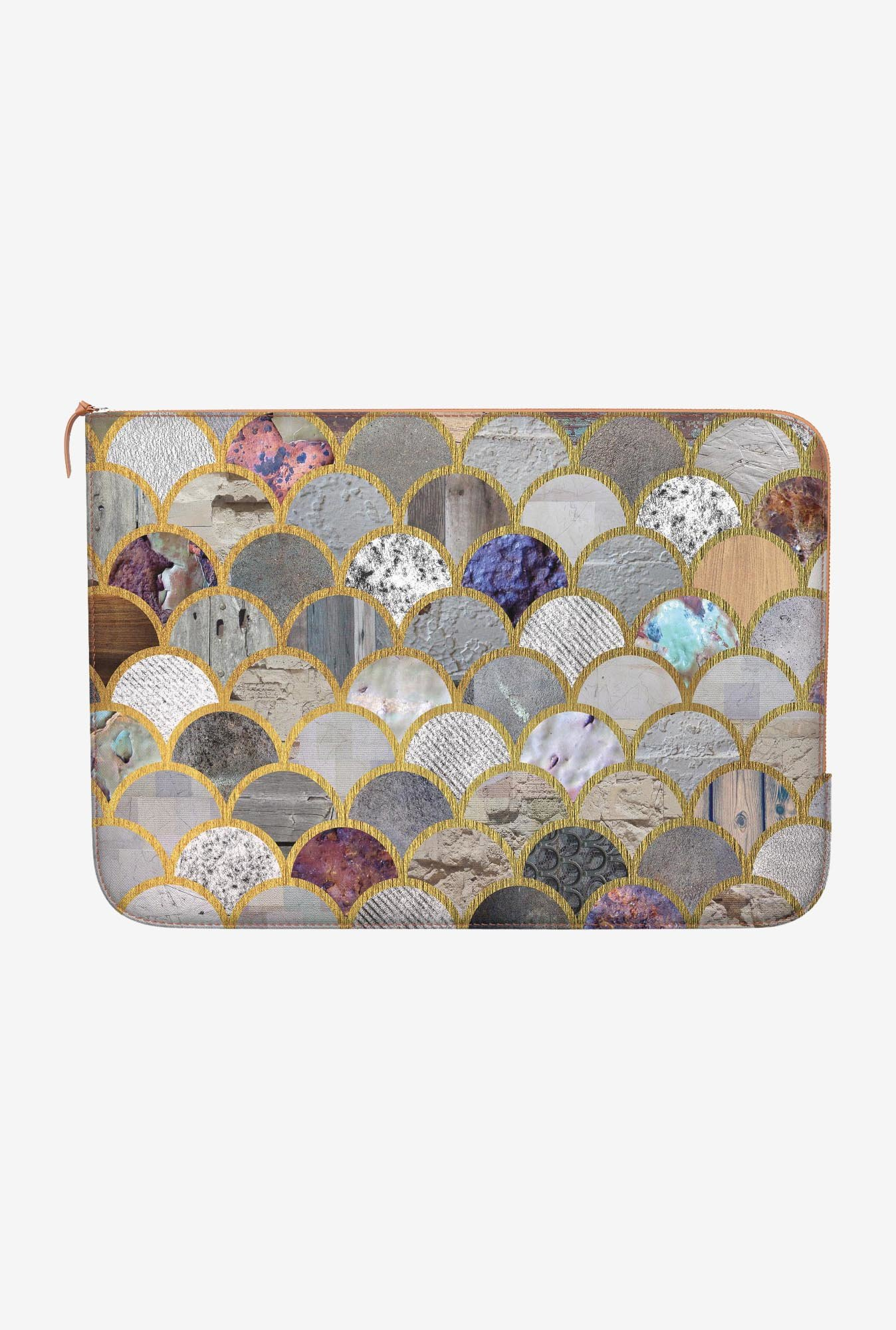 "DailyObjects Textured Moons Macbook Air 11"" Zippered Sleeve"