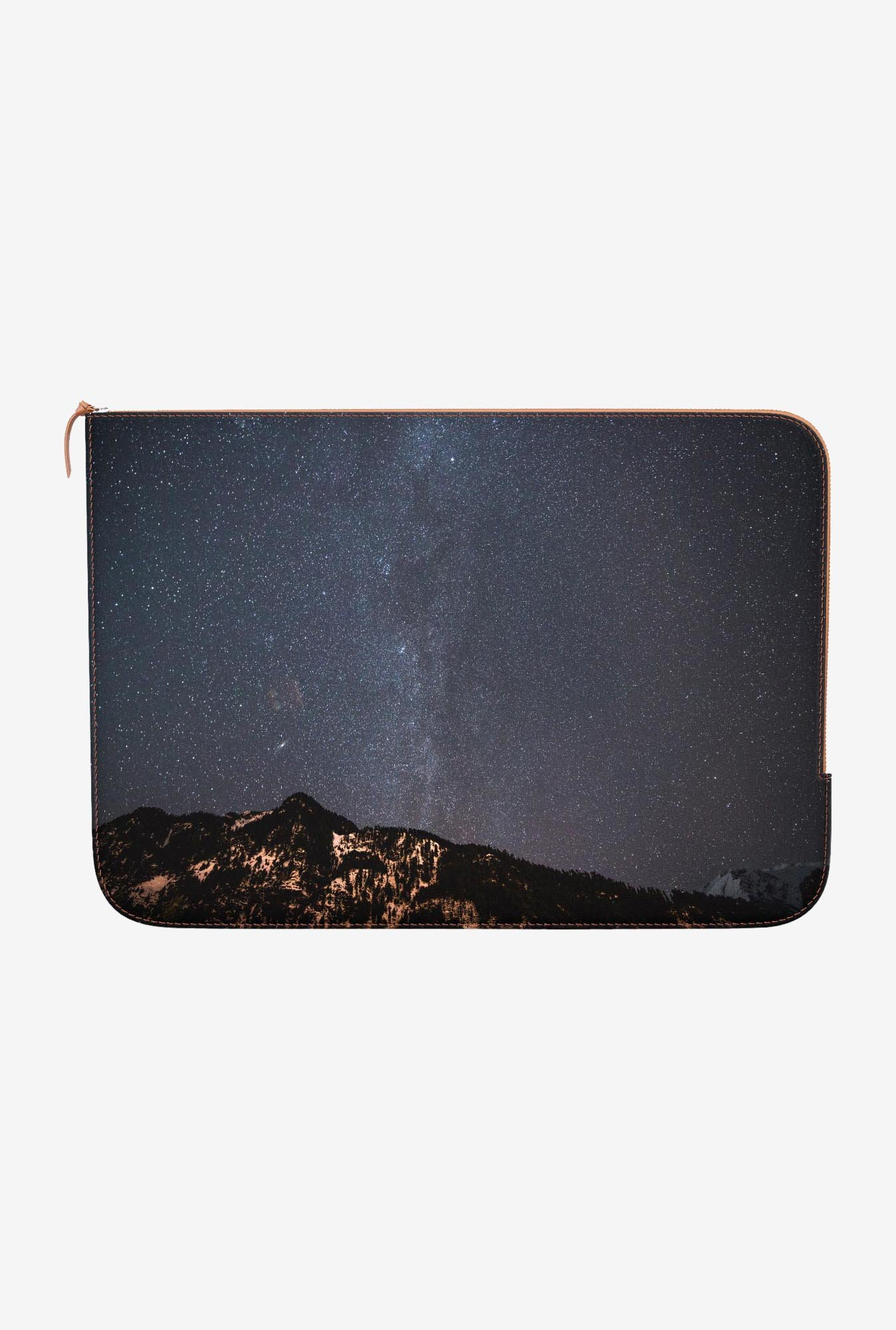 "DailyObjects Starry Peak Macbook Air 13"" Zippered Sleeve"
