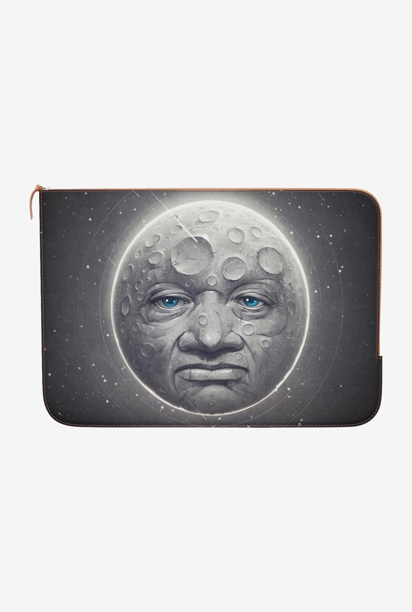 "DailyObjects The Moon Macbook Air 11"" Zippered Sleeve"