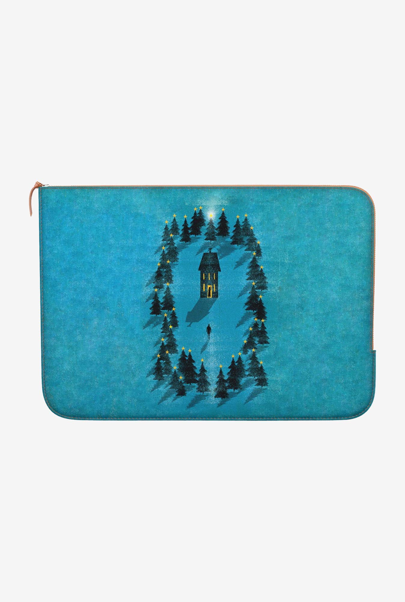 "DailyObjects Coming Home Macbook Air 11"" Zippered Sleeve"