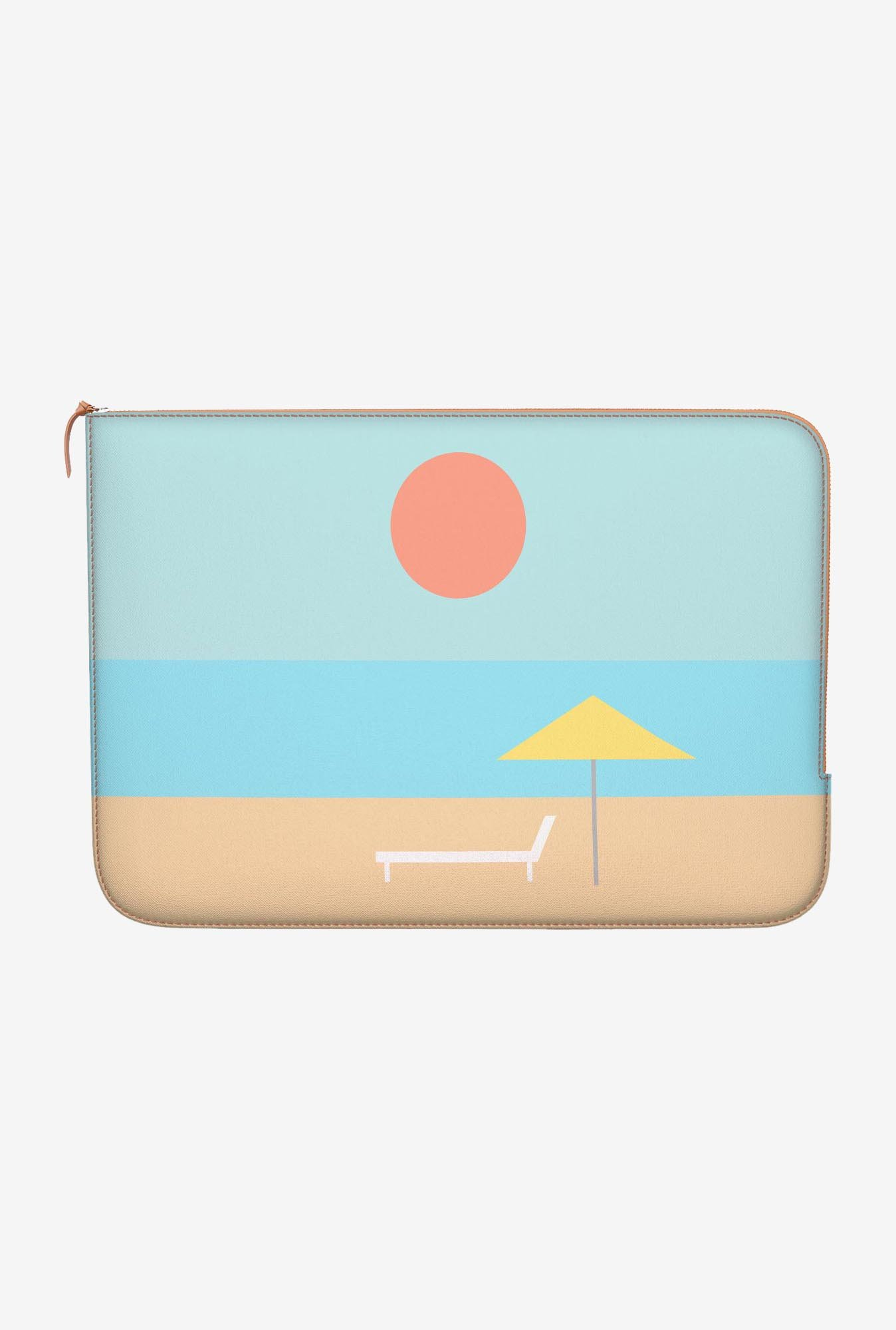 "DailyObjects Beach Iconic Macbook Pro 15"" Zippered Sleeve"