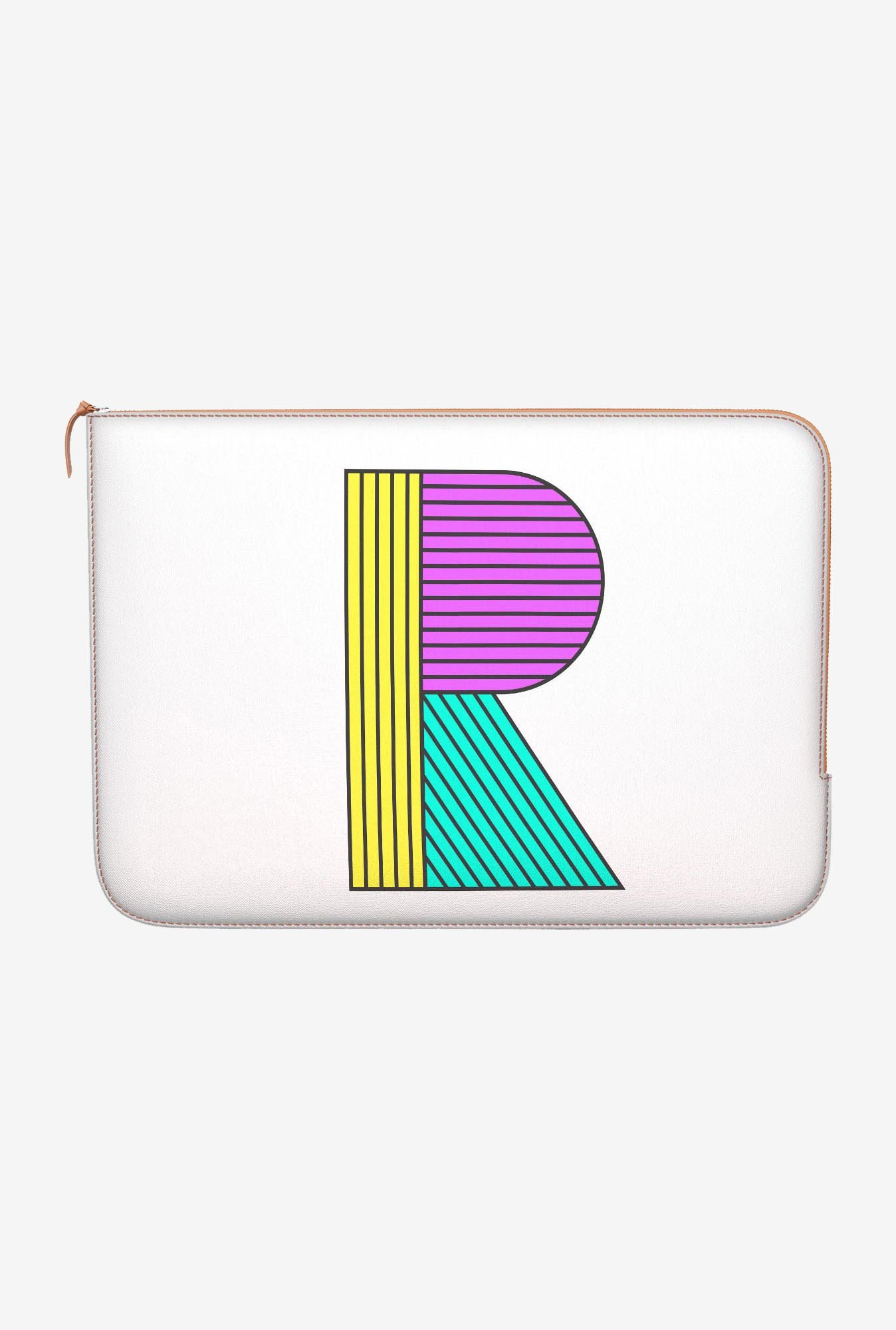 "DailyObjects Stylised R Macbook Air 13"" Zippered Sleeve"