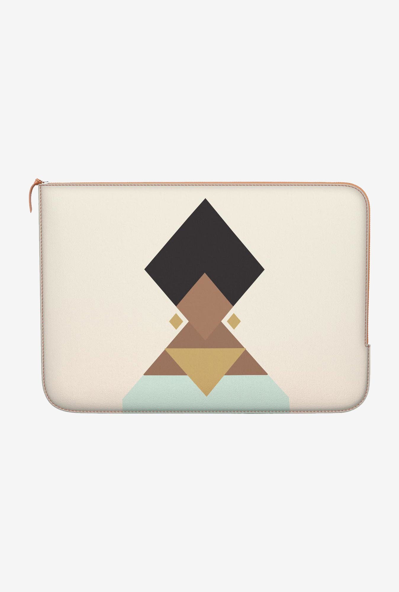 "DailyObjects Stylised Turban Macbook Air 13"" Zippered Sleeve"