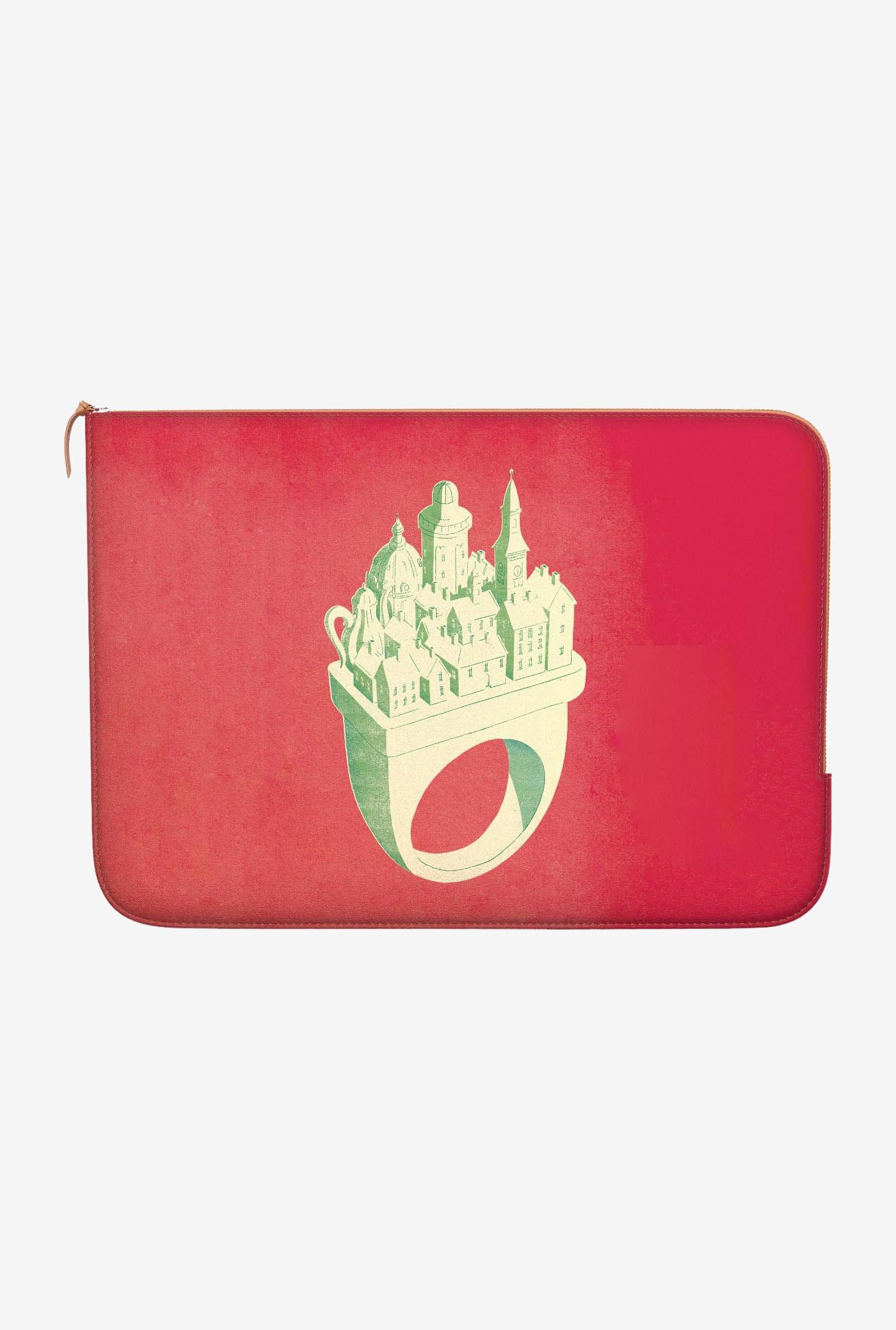 "DailyObjects Big Promise Macbook Air 11"" Zippered Sleeve"
