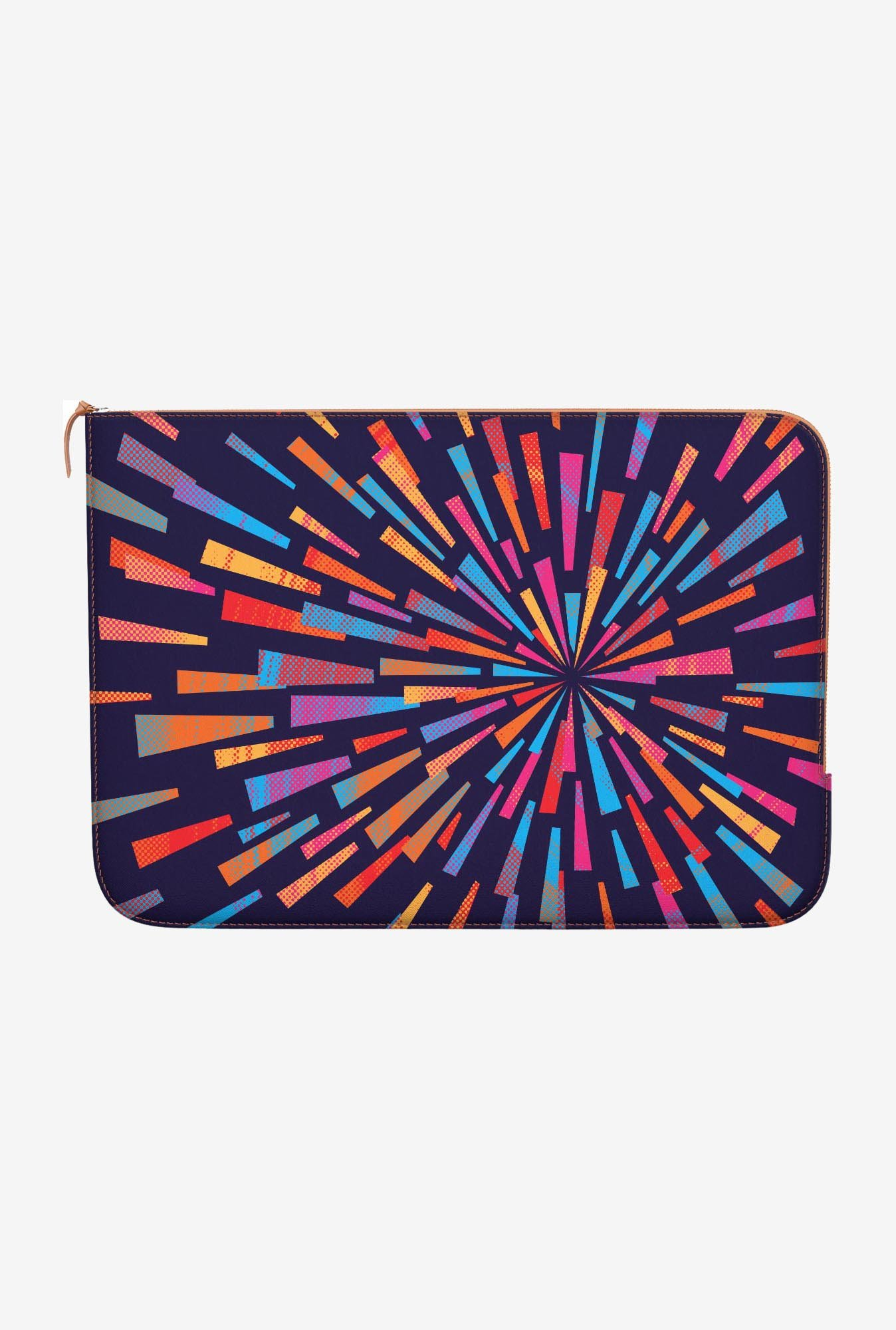 "DailyObjects Swirl Backpack Macbook Pro 13"" Zippered Sleeve"