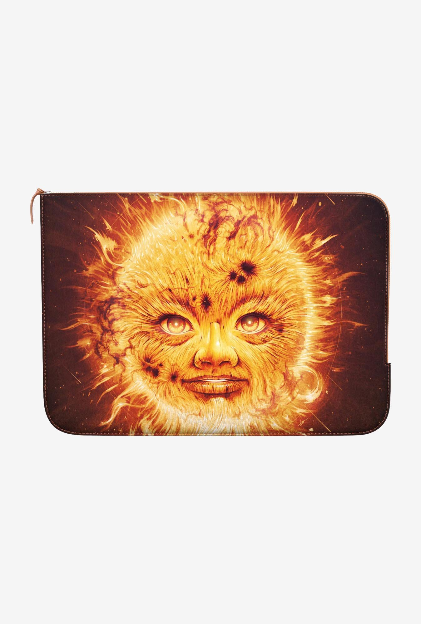 "DailyObjects The Sun Macbook Pro 13"" Zippered Sleeve"