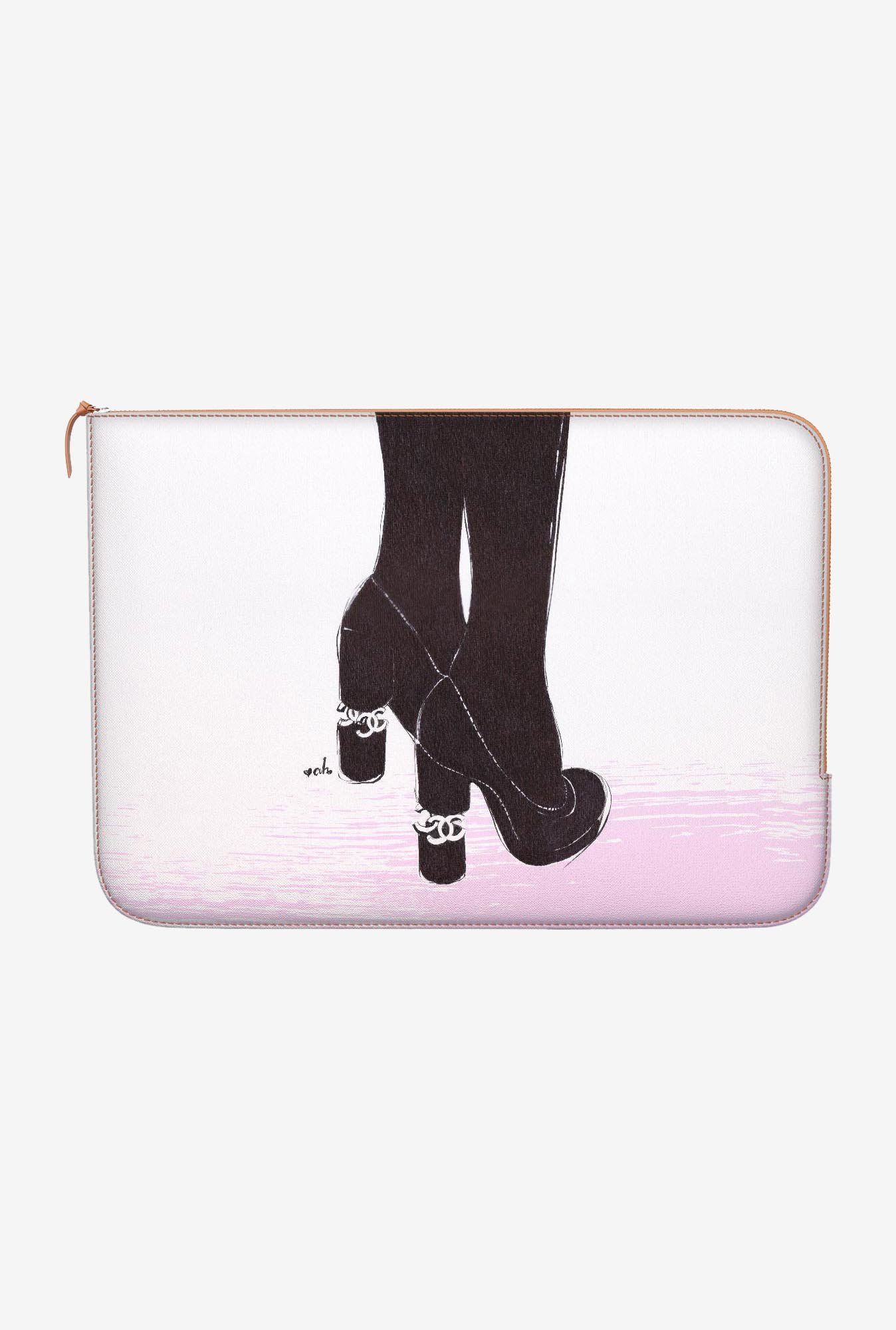"DailyObjects The First Date Macbook Air 11"" Zippered Sleeve"