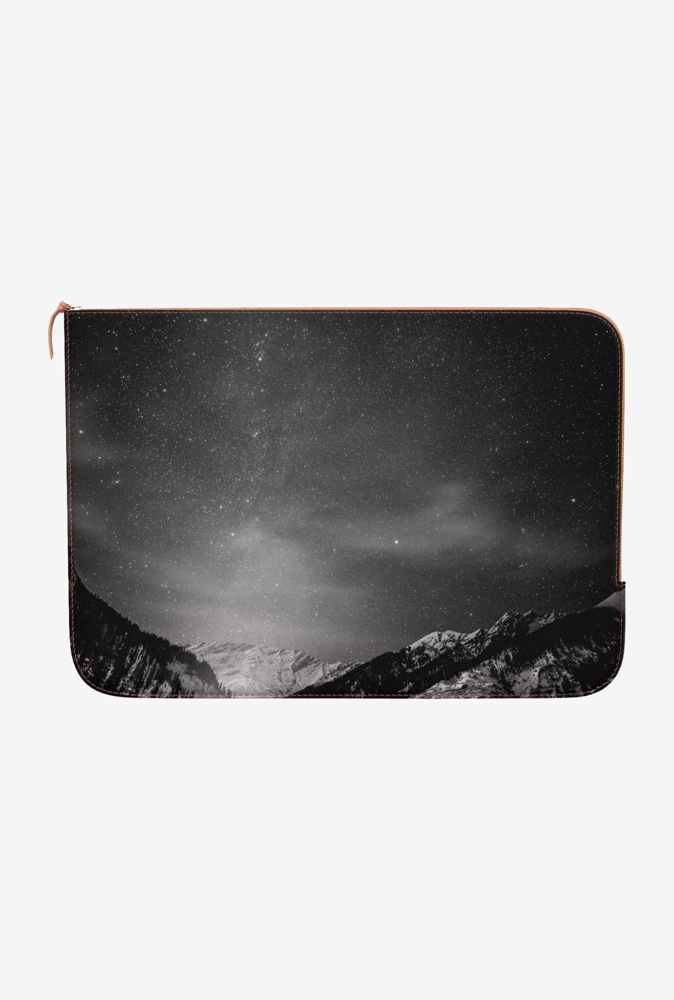 "DailyObjects Black White Macbook Air 11"" Zippered Sleeve"