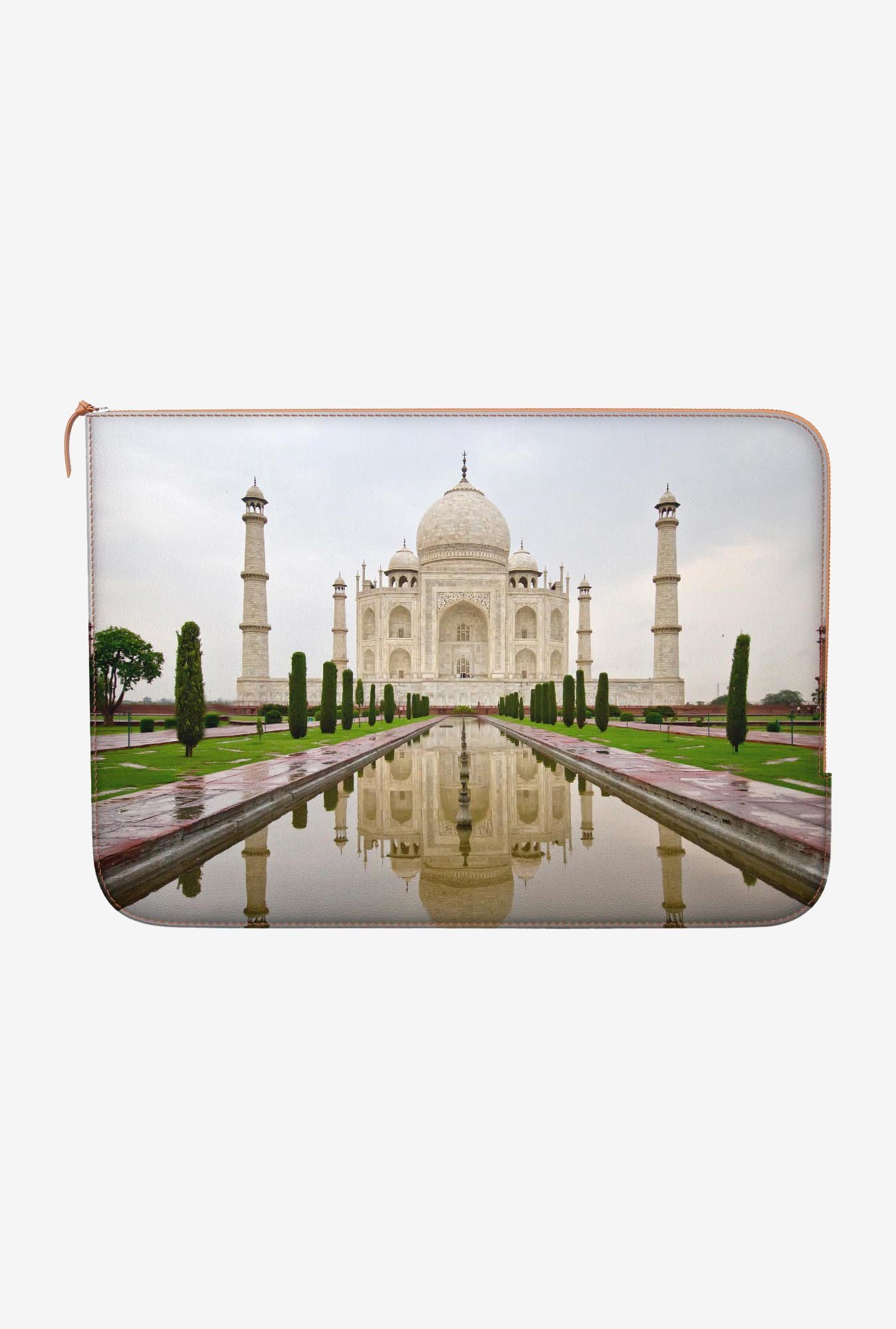 "DailyObjects Taj Mahal 2 Macbook Air 13"" Zippered Sleeve"