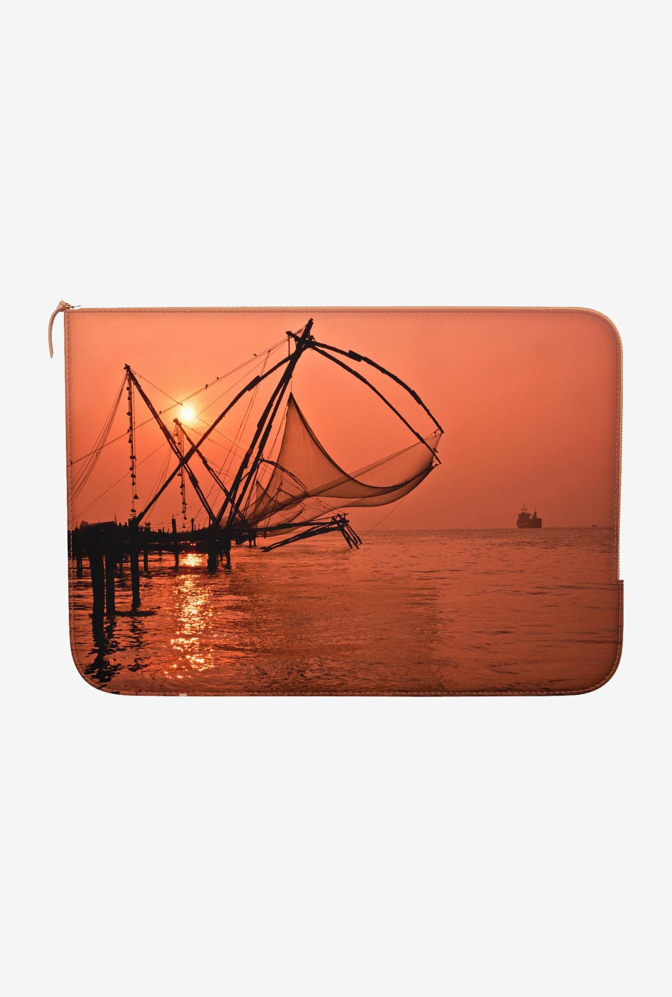 "DailyObjects Fishing Macbook Air 13"" Zippered Sleeve"