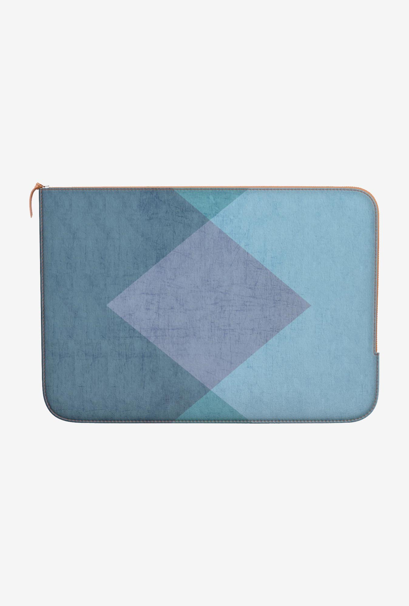 "DailyObjects The Triangles Macbook Air 13"" Zippered Sleeve"
