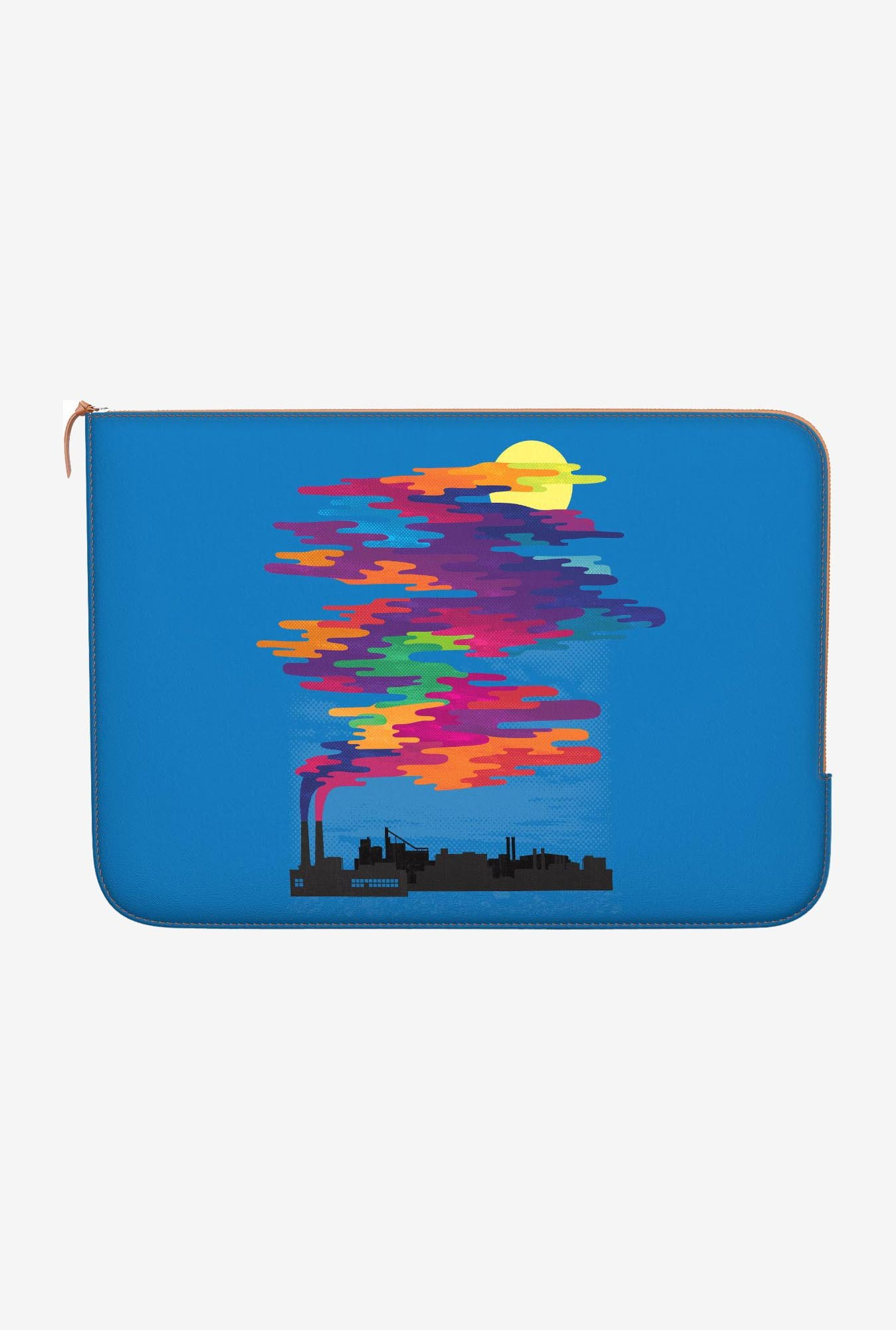 "DailyObjects Day Smog Colors Macbook Pro 13"" Zippered Sleeve"
