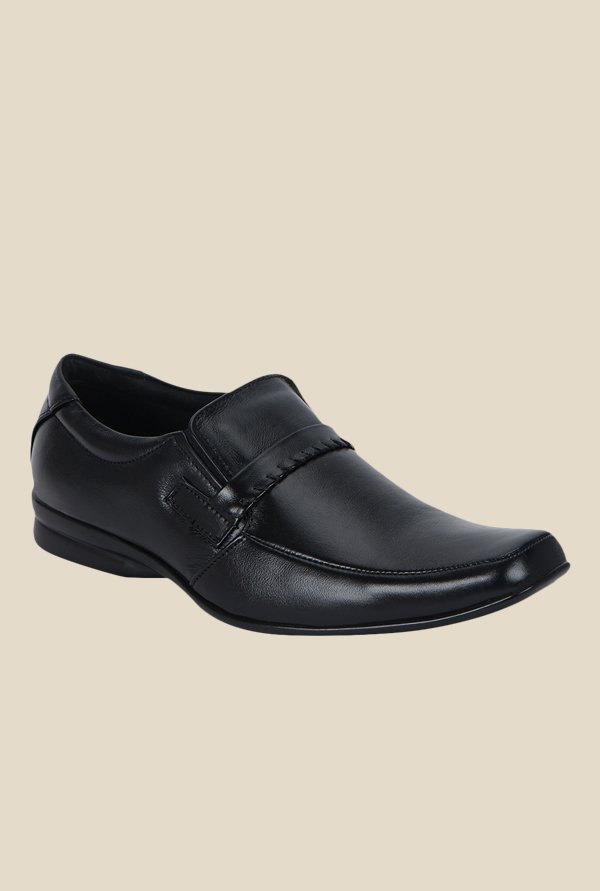 Kielz Black Formal Slip-Ons