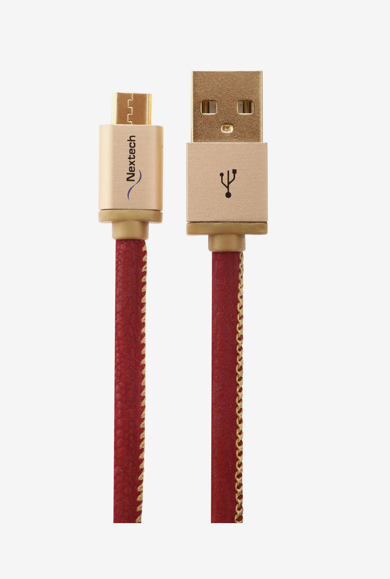 Nextech NC59R Micro Sync and Charge Cable (Red)