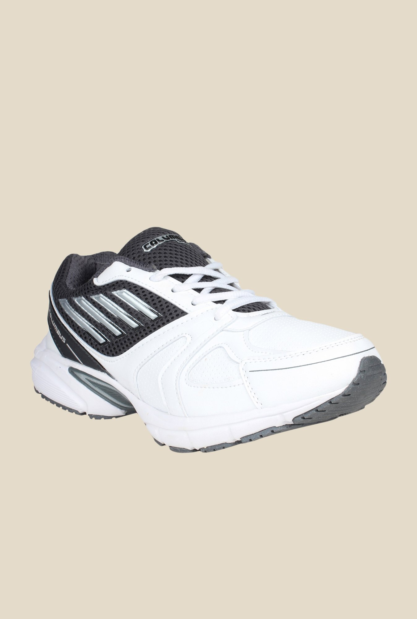 Columbus ADY-Print White & Black Training Shoes