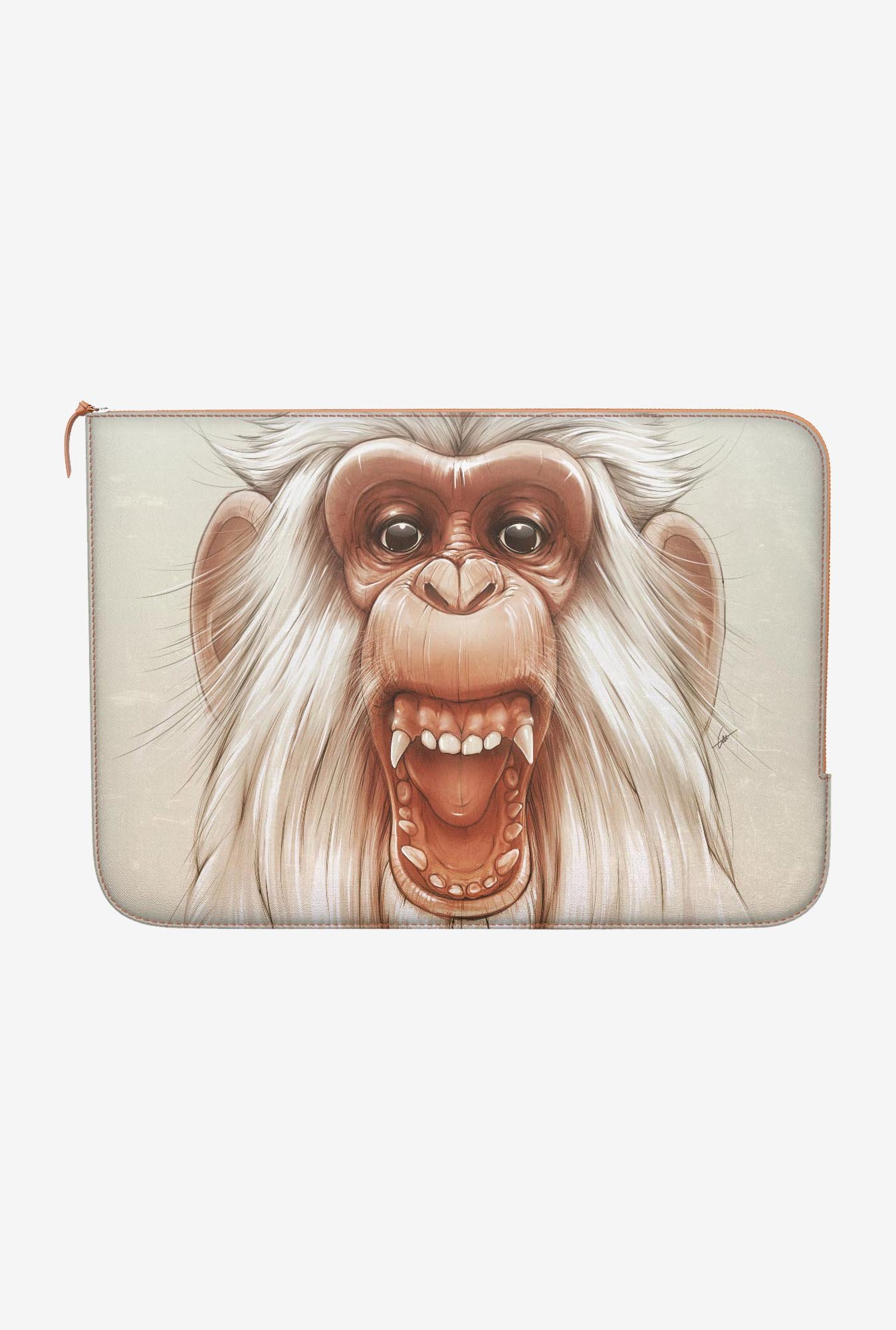 "DailyObjects Twam Monkey Macbook Pro 15"" Zippered Sleeve"