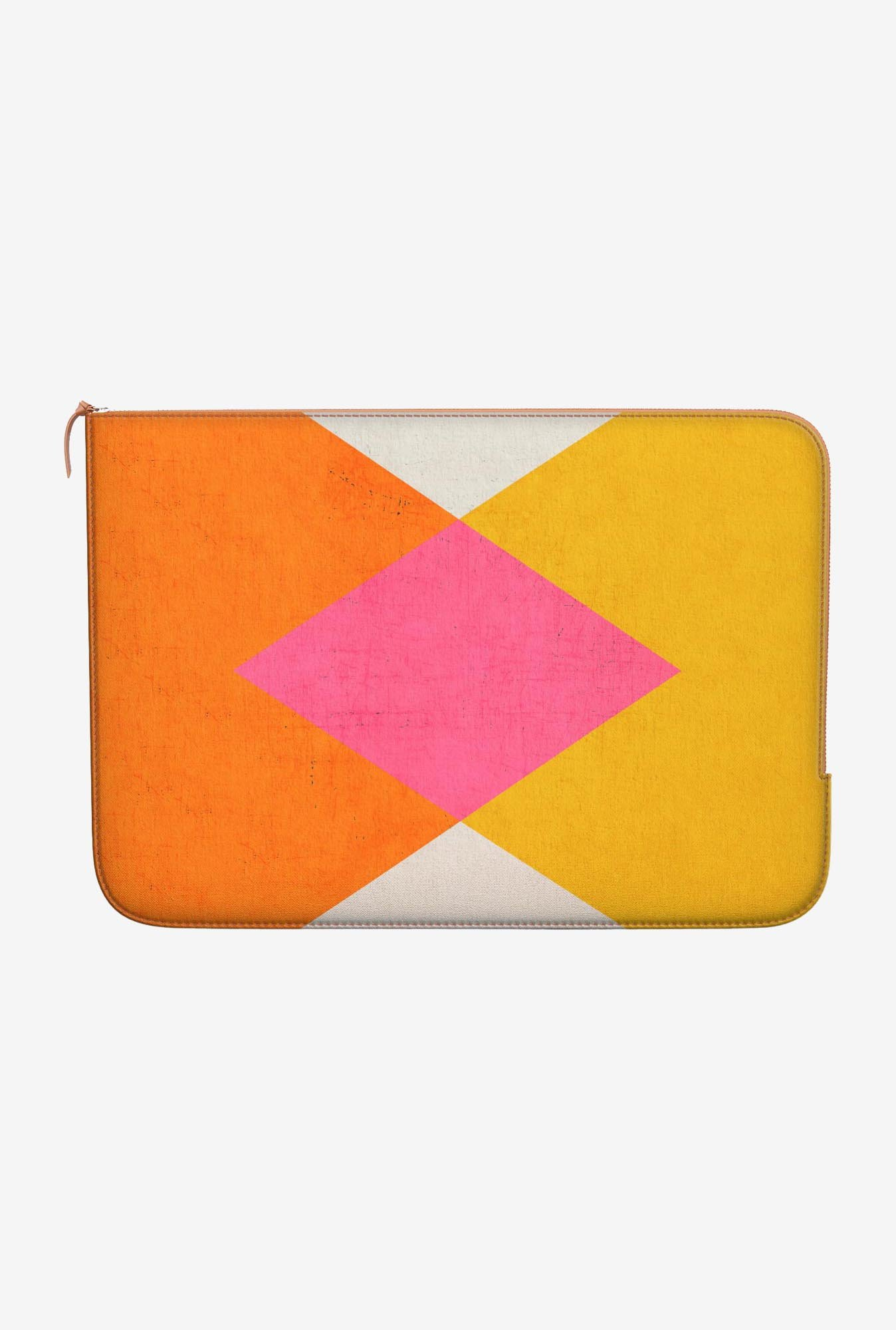"DailyObjects Triangle Summer Macbook Pro 15"" Zippered Sleeve"