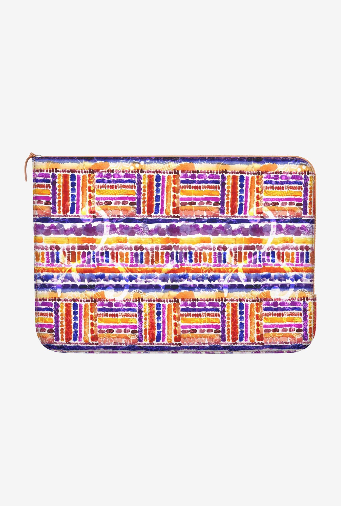 "DailyObjects Tribal Macbook Air 13"" Zippered Sleeve"