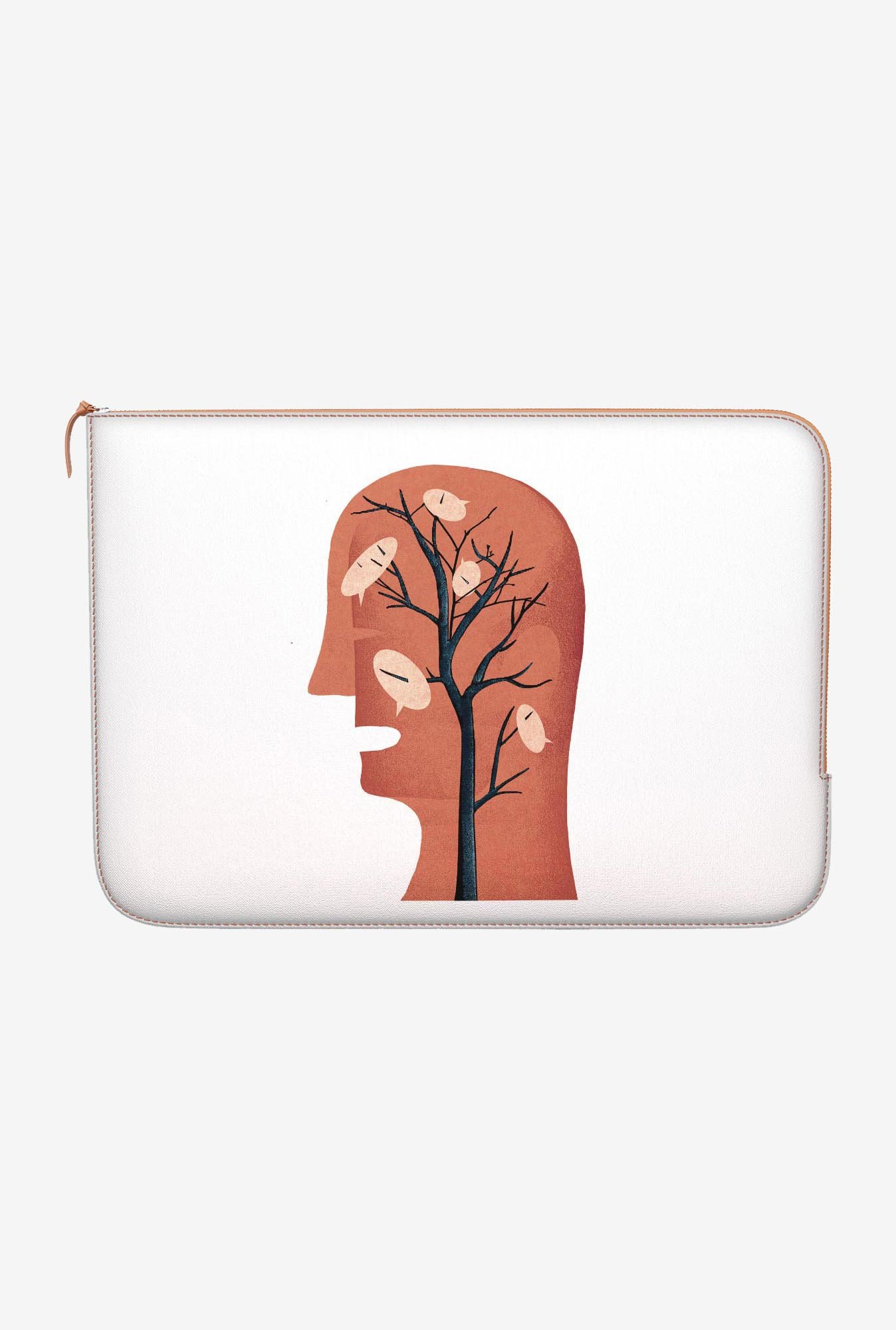 DailyObjects Unspoken Thought MacBook Pro 13 Zippered Sleeve