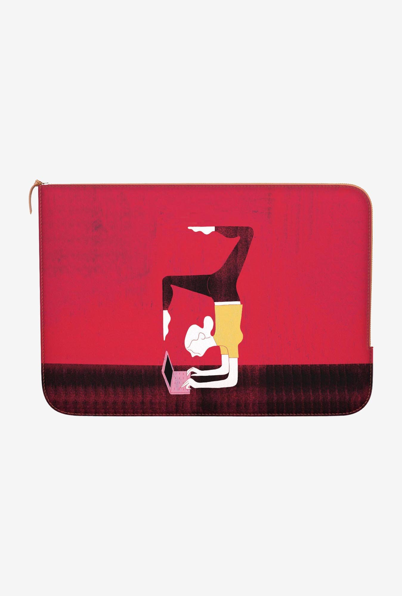 DailyObjects Work From Home MacBook Pro 13 Zippered Sleeve