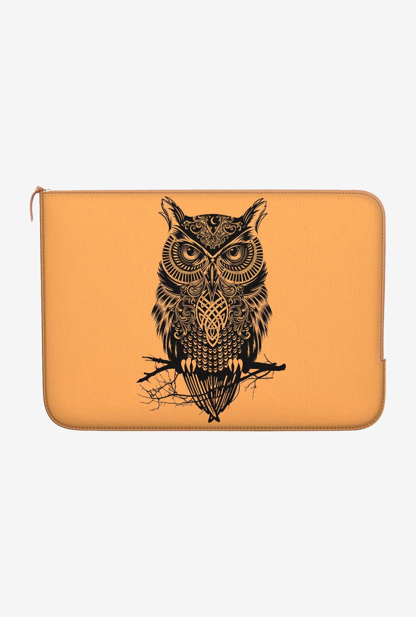 "DailyObjects Warrior Owl Macbook Air 13"" Zippered Sleeve"