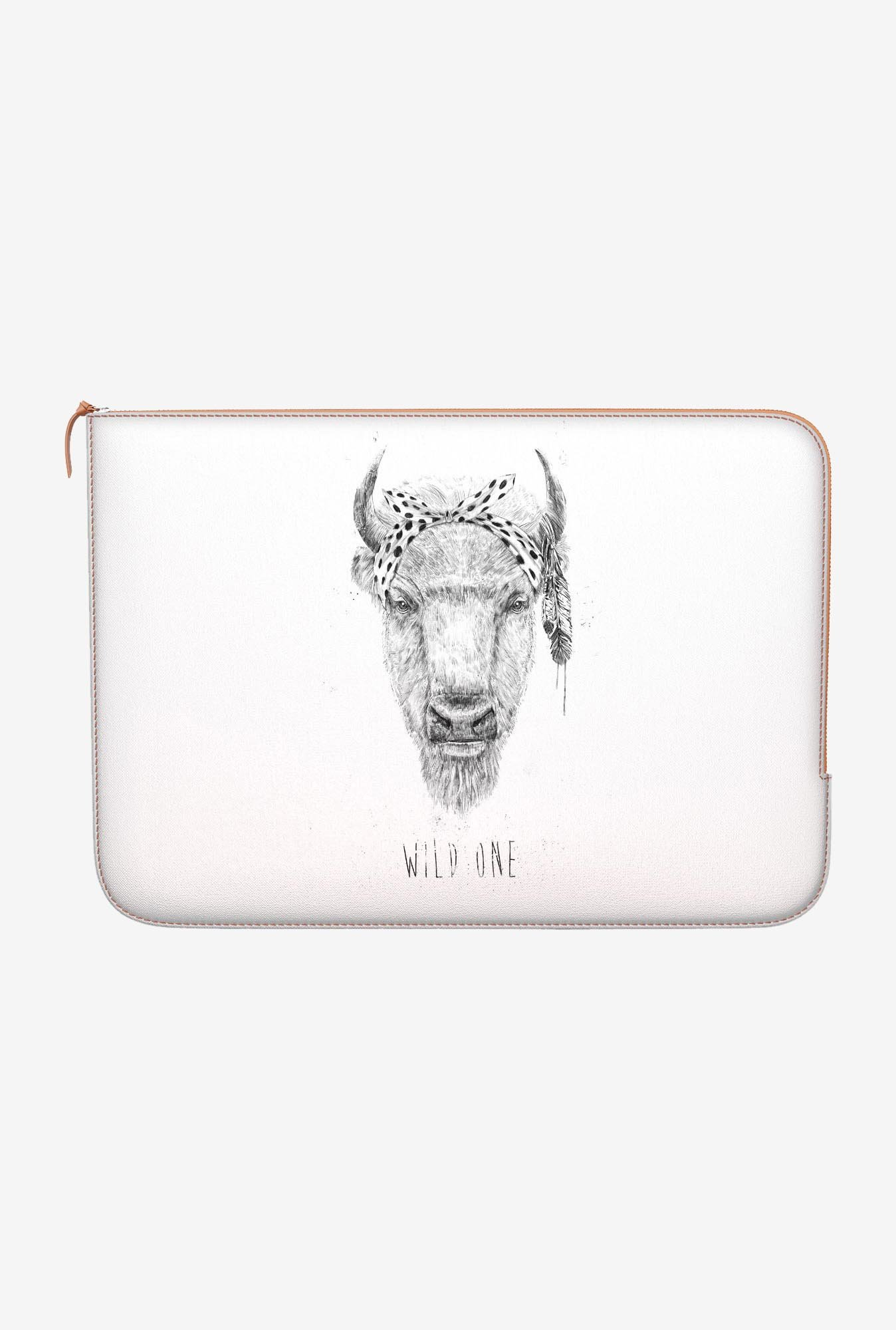 "DailyObjects Wild One Macbook Pro 15"" Zippered Sleeve"