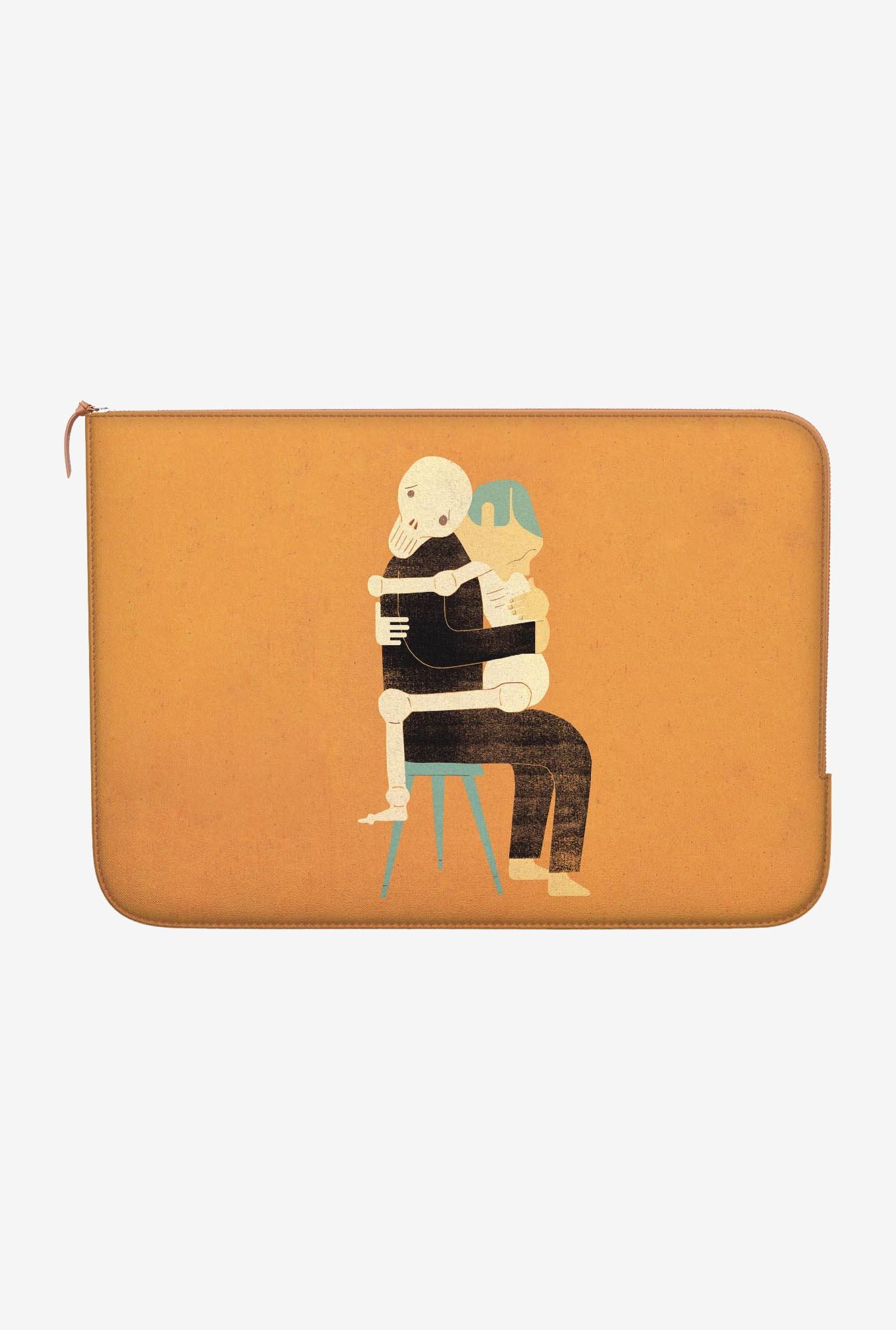 DailyObjects Till Death Apart MacBook 12 Zippered Sleeve