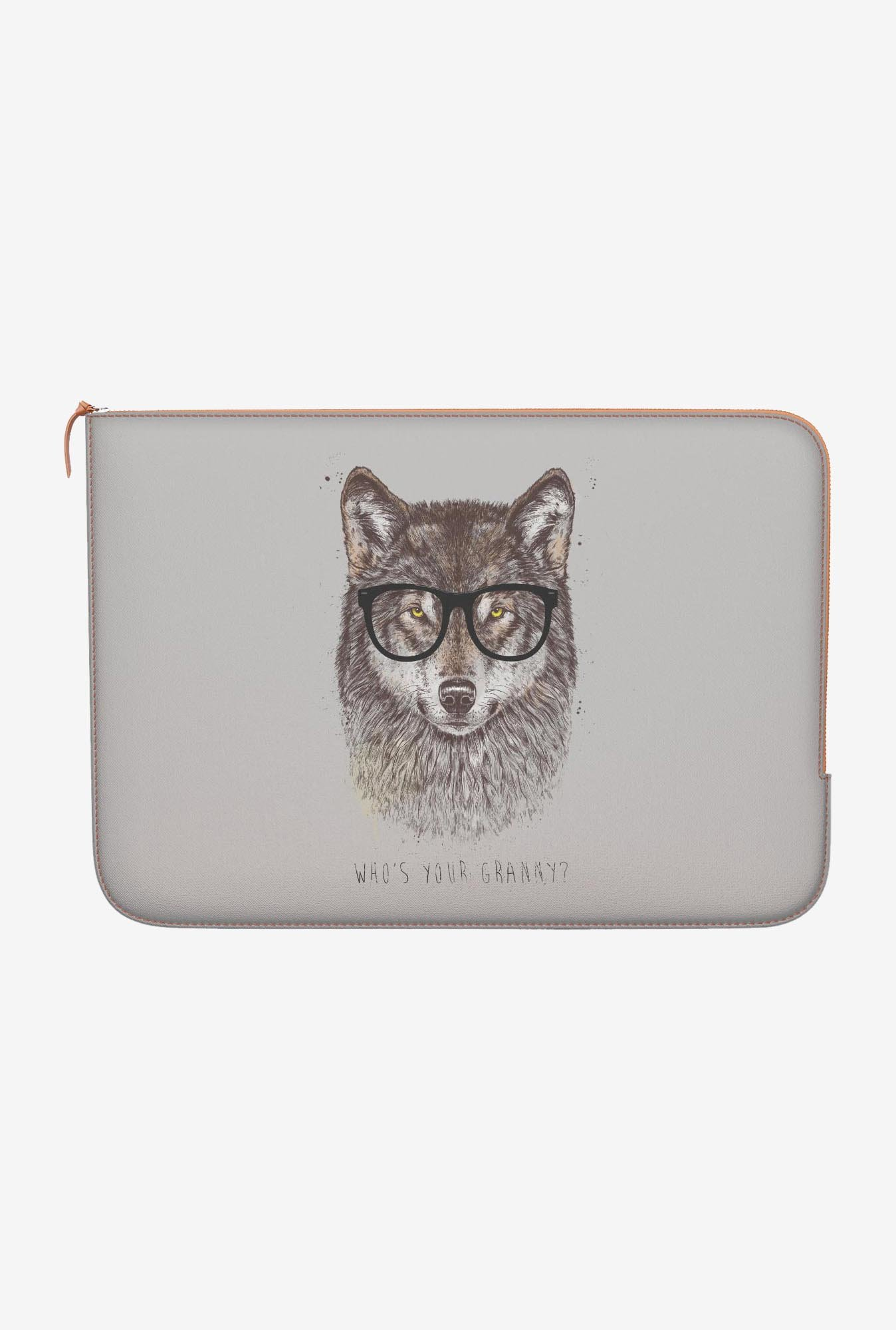 "DailyObjects Your Granny Macbook Pro 15"" Zippered Sleeve"