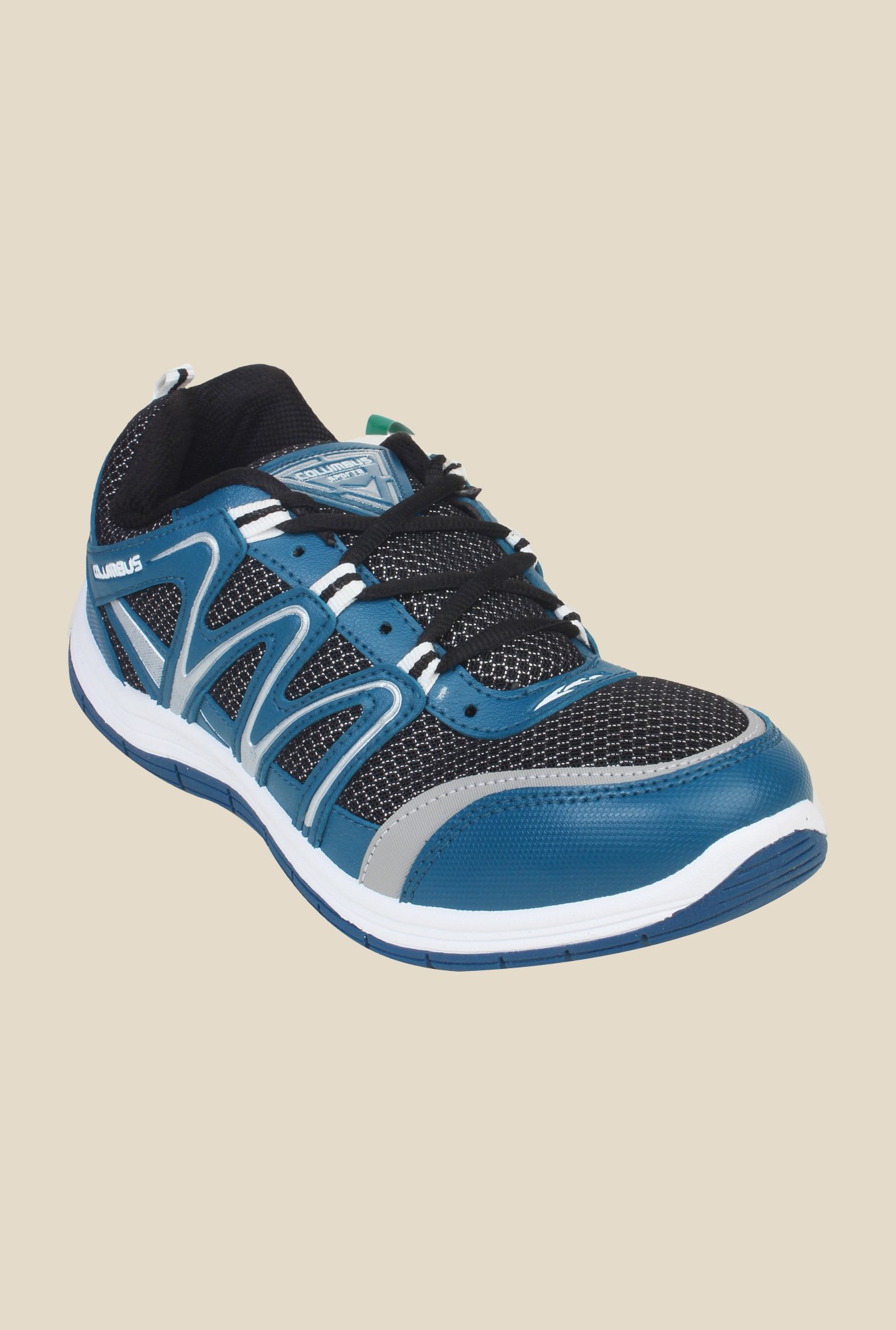 Columbus FM-2 Blue & Black Running Shoes