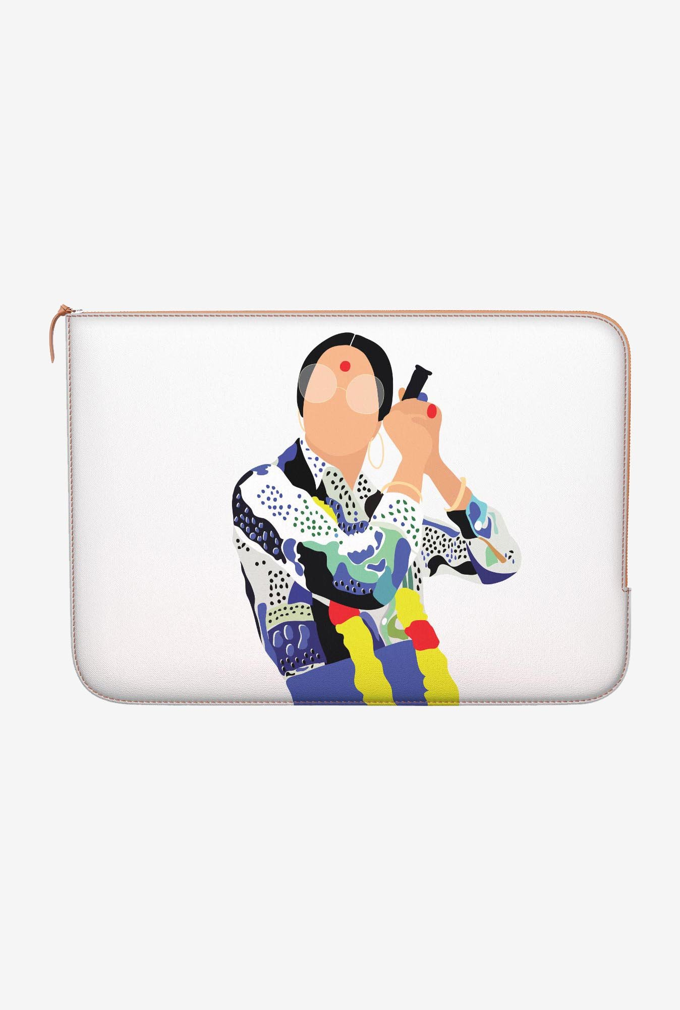 DailyObjects Zeenat Toke MacBook Air 11 Zippered Sleeve