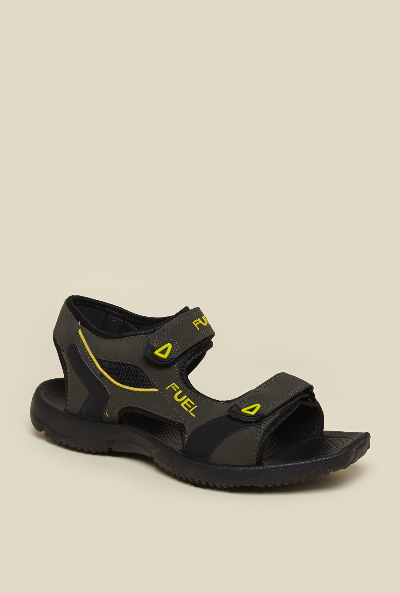 Zudio Olive Floater Sandals