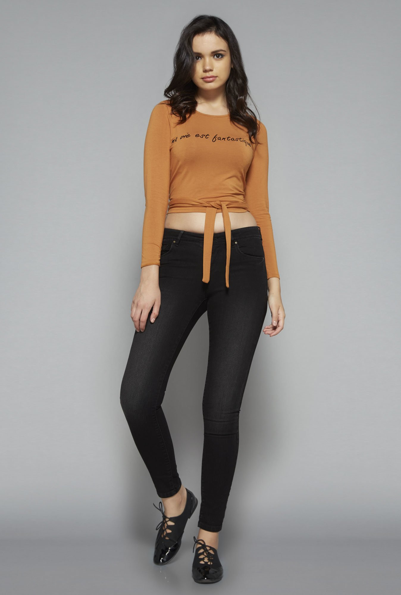 Nuon by Westside Tan Garry Top