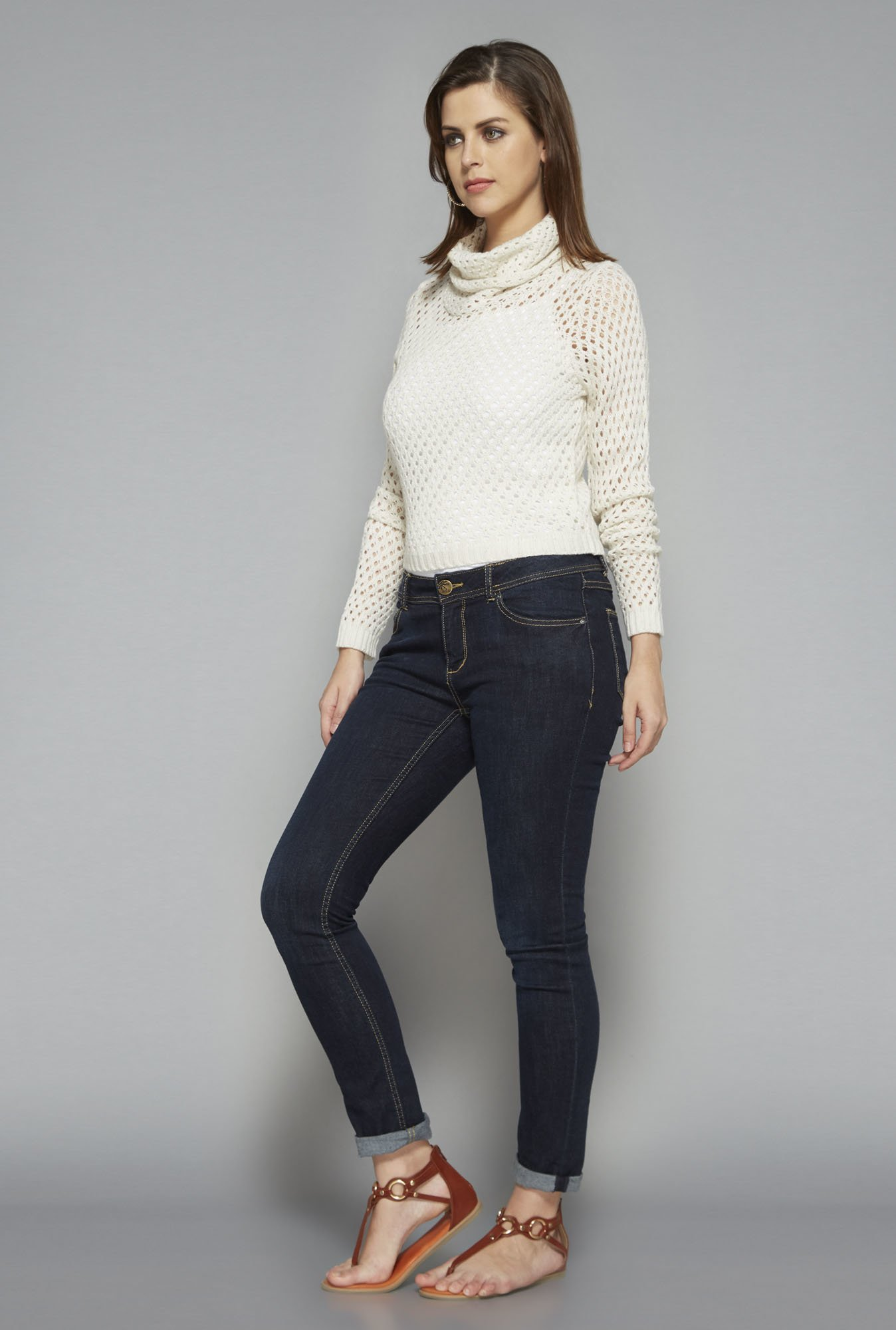 LOV by Westside White Alex Sweater