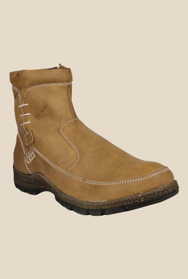 Pede milan Muscut Brown Casual Boots