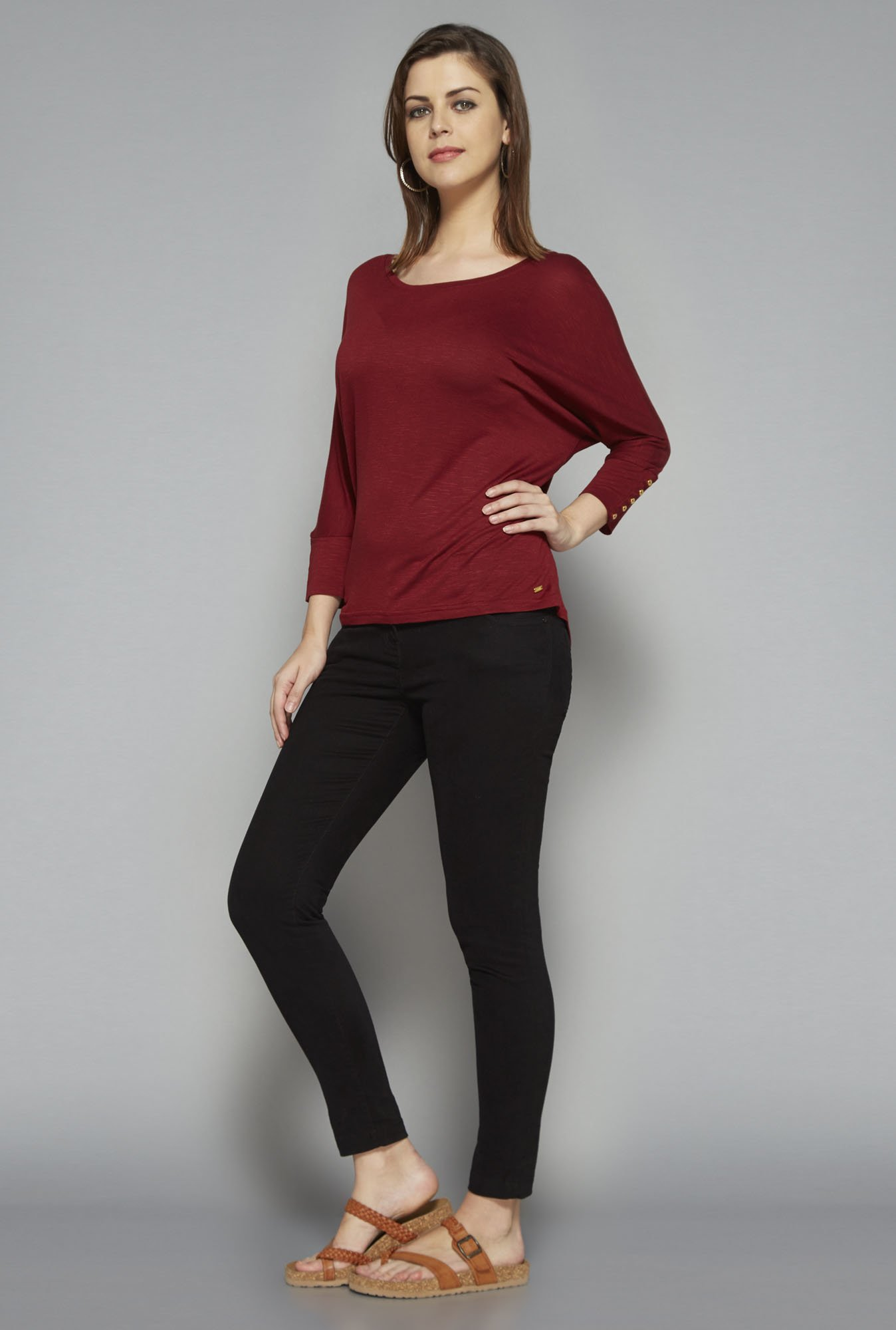 LOV by Westside Maroon Seth Top