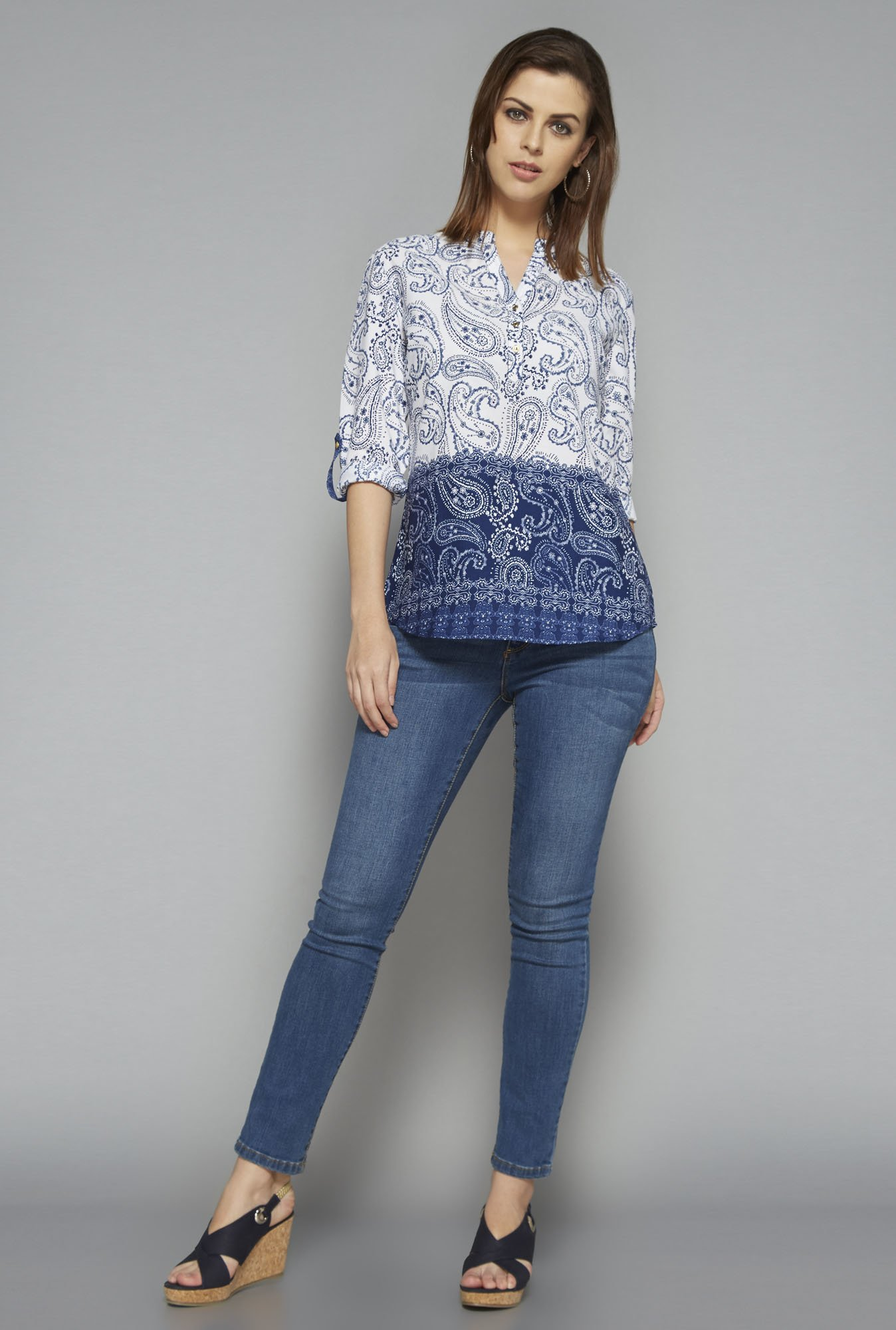 LOV by Westside Navy Keira Top
