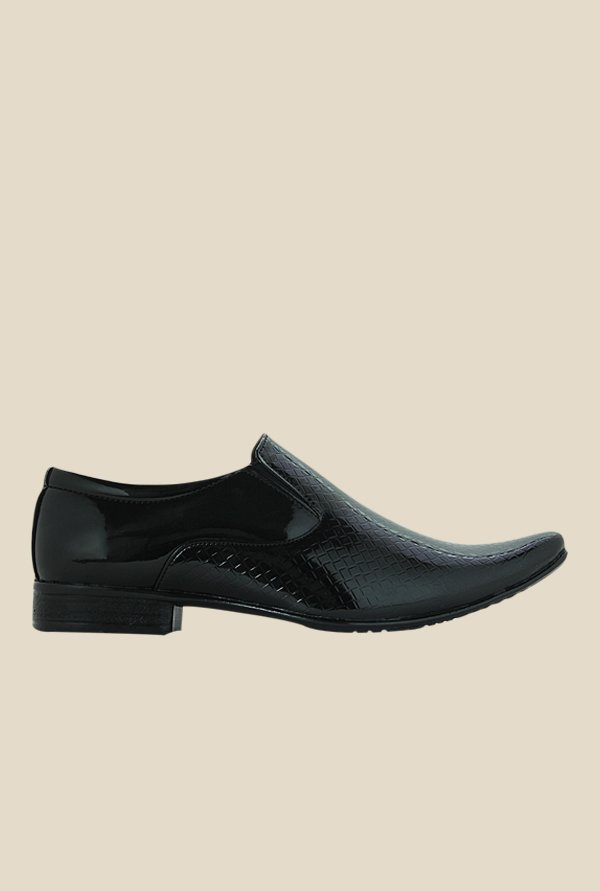Get Glamr Andrew Black Formal Loafers