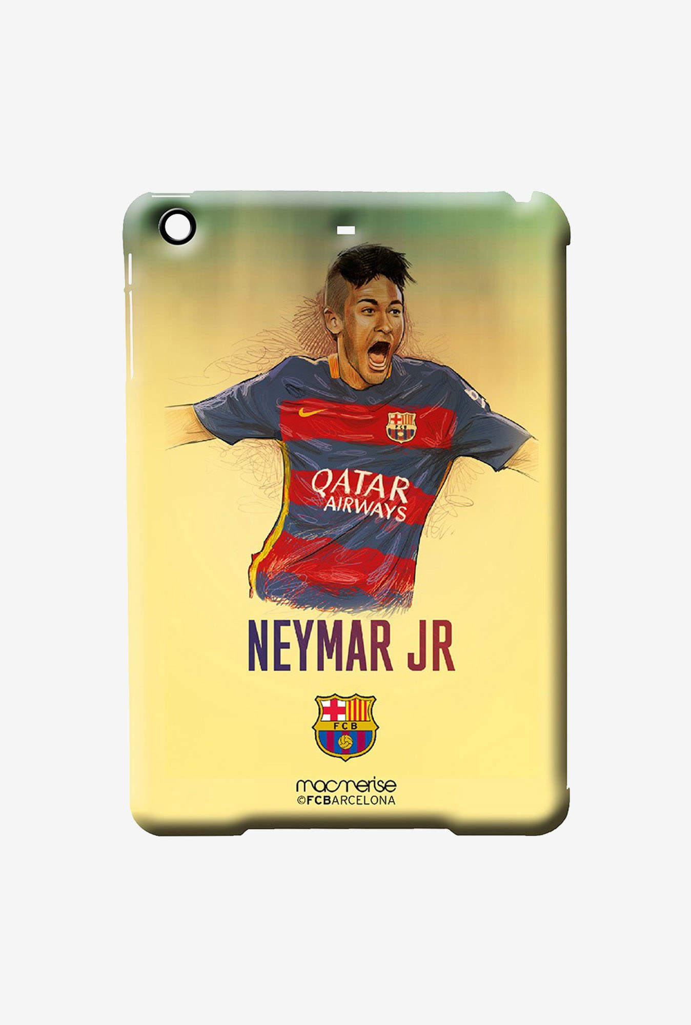 Macmerise Illustrated Neymar Pro Case for iPad Air