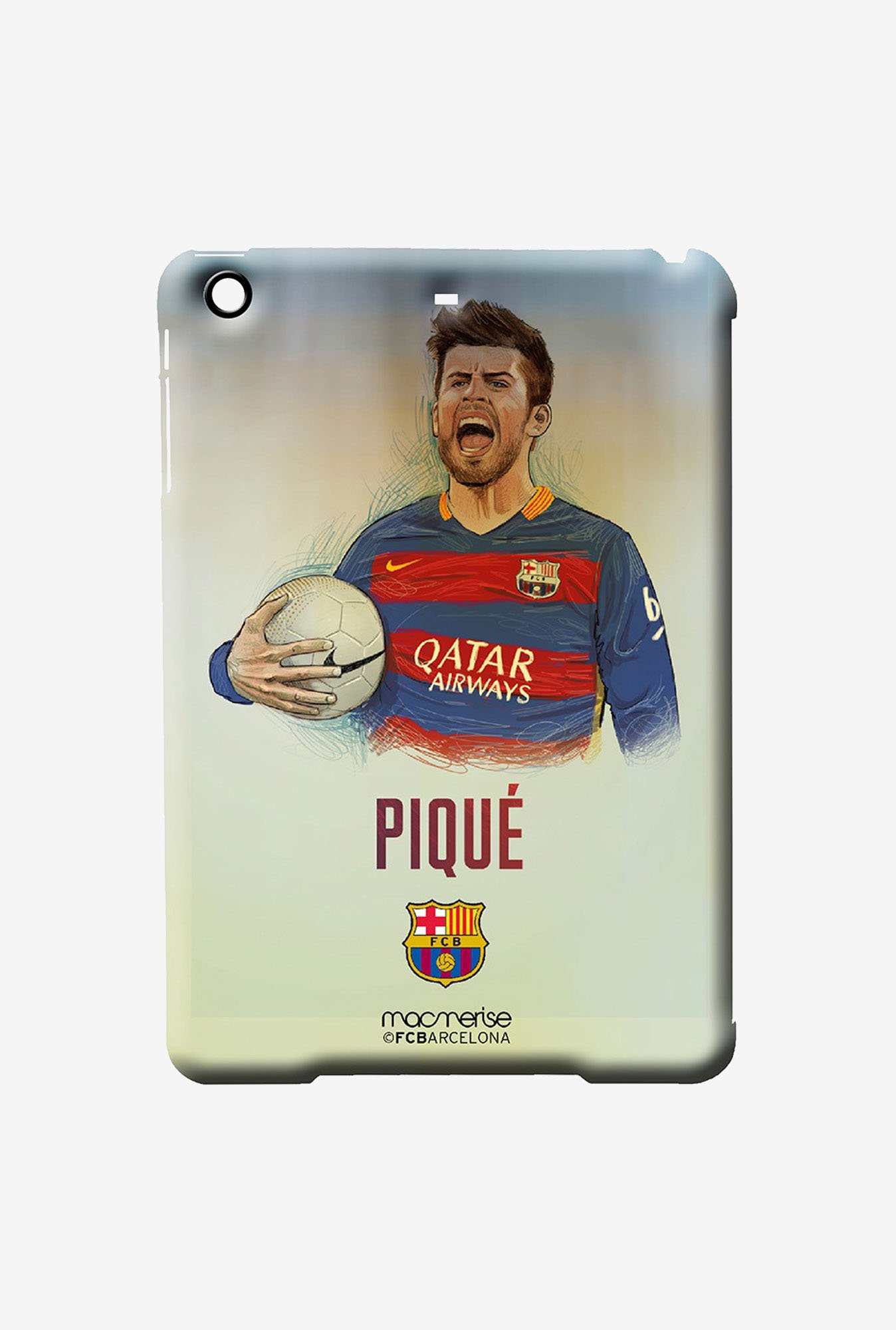 Macmerise Illustrated Pique Pro Case for iPad Air