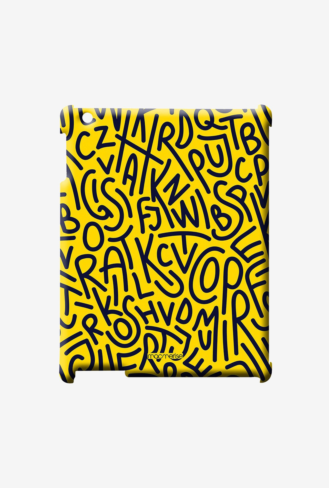 Macmerise Alphabet Mashup Pro Case for iPad Air