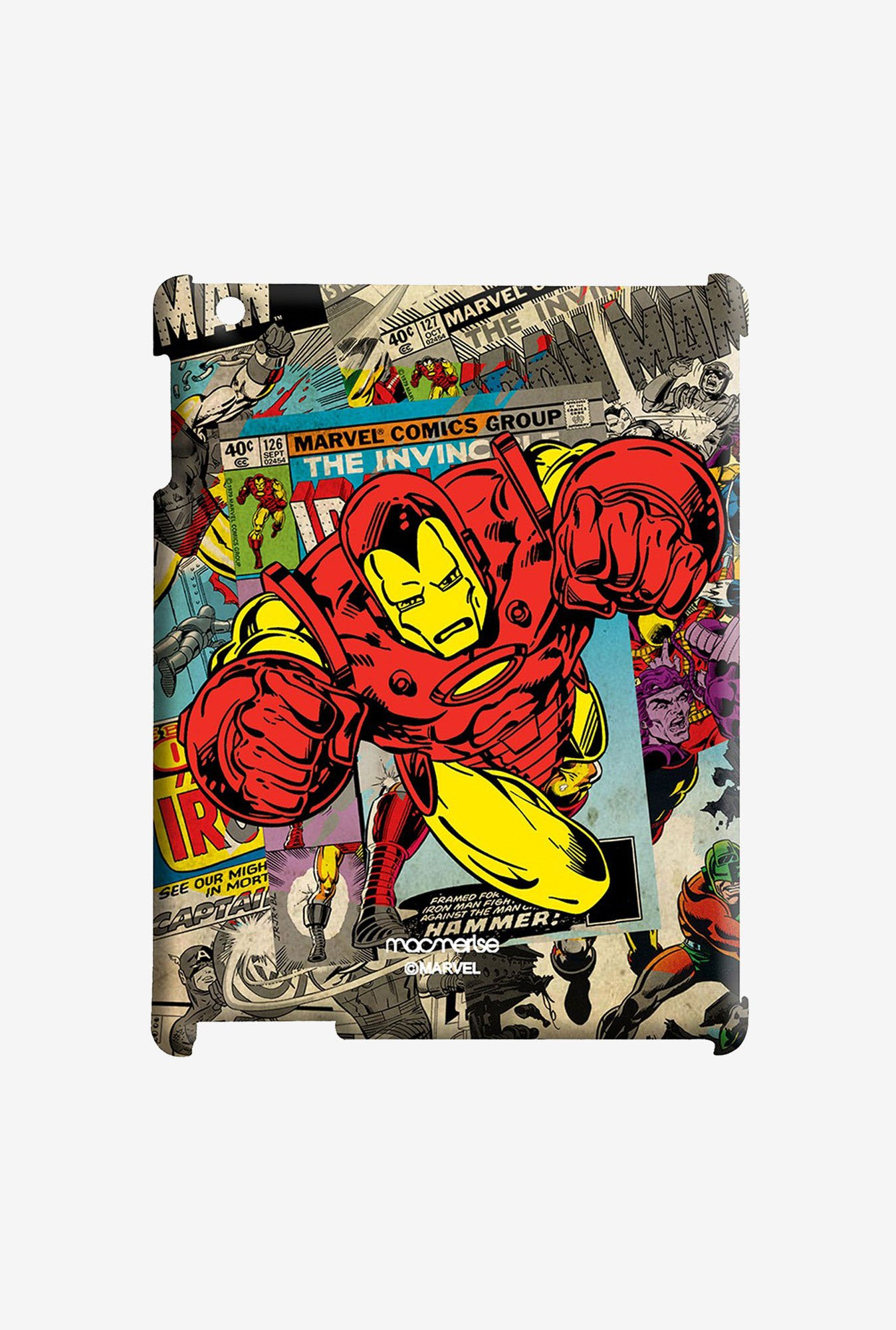 Macmerise Comic Ironman Pro Case for iPad 2/3/4