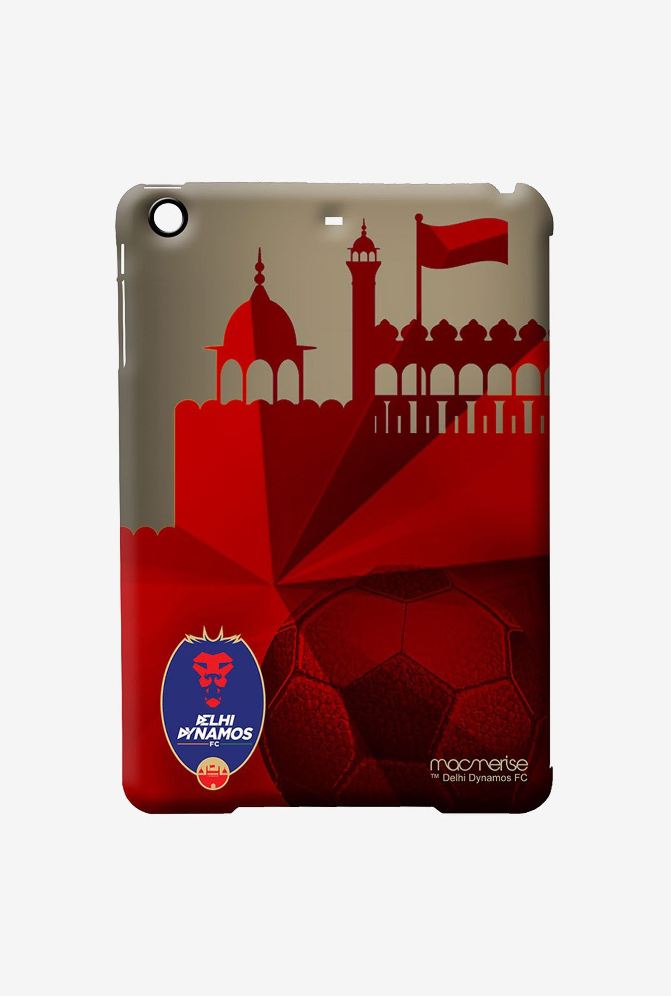 Macmerise Delhi Dynamos Bleed Red Pro Case for iPad Air