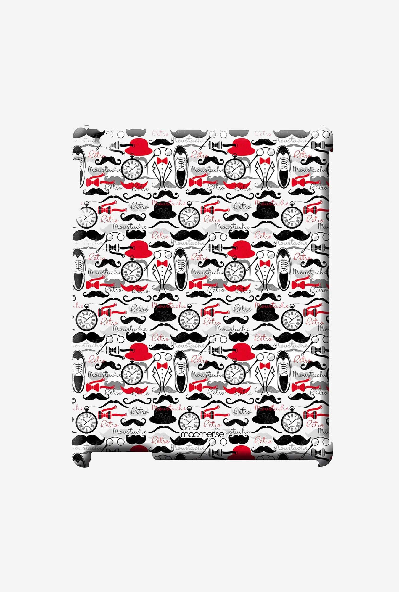 Macmerise Retro Moustache Pro Case for iPad 2/3/4