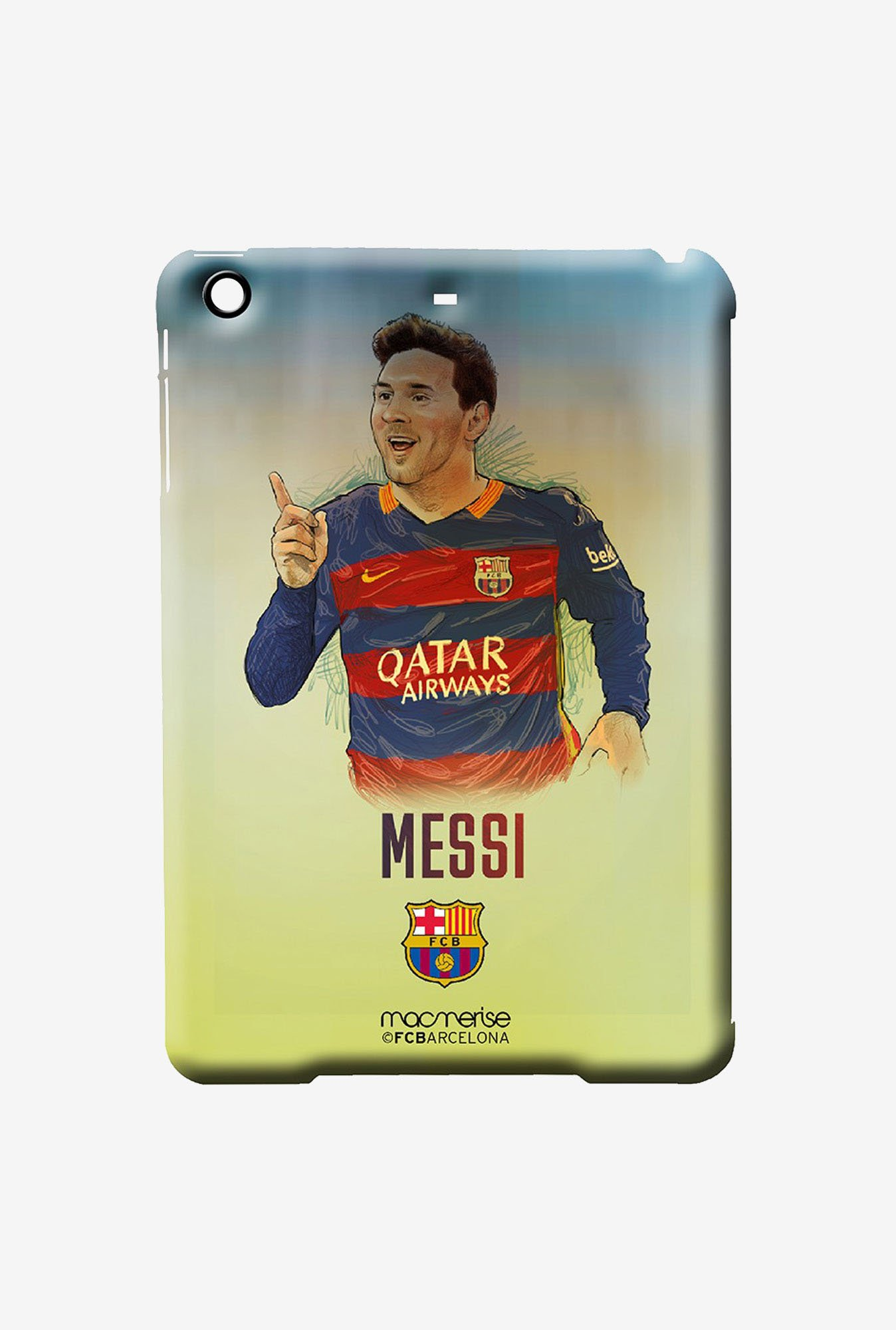 Macmerise Illustrated Messi Pro Case for iPad 2/3/4